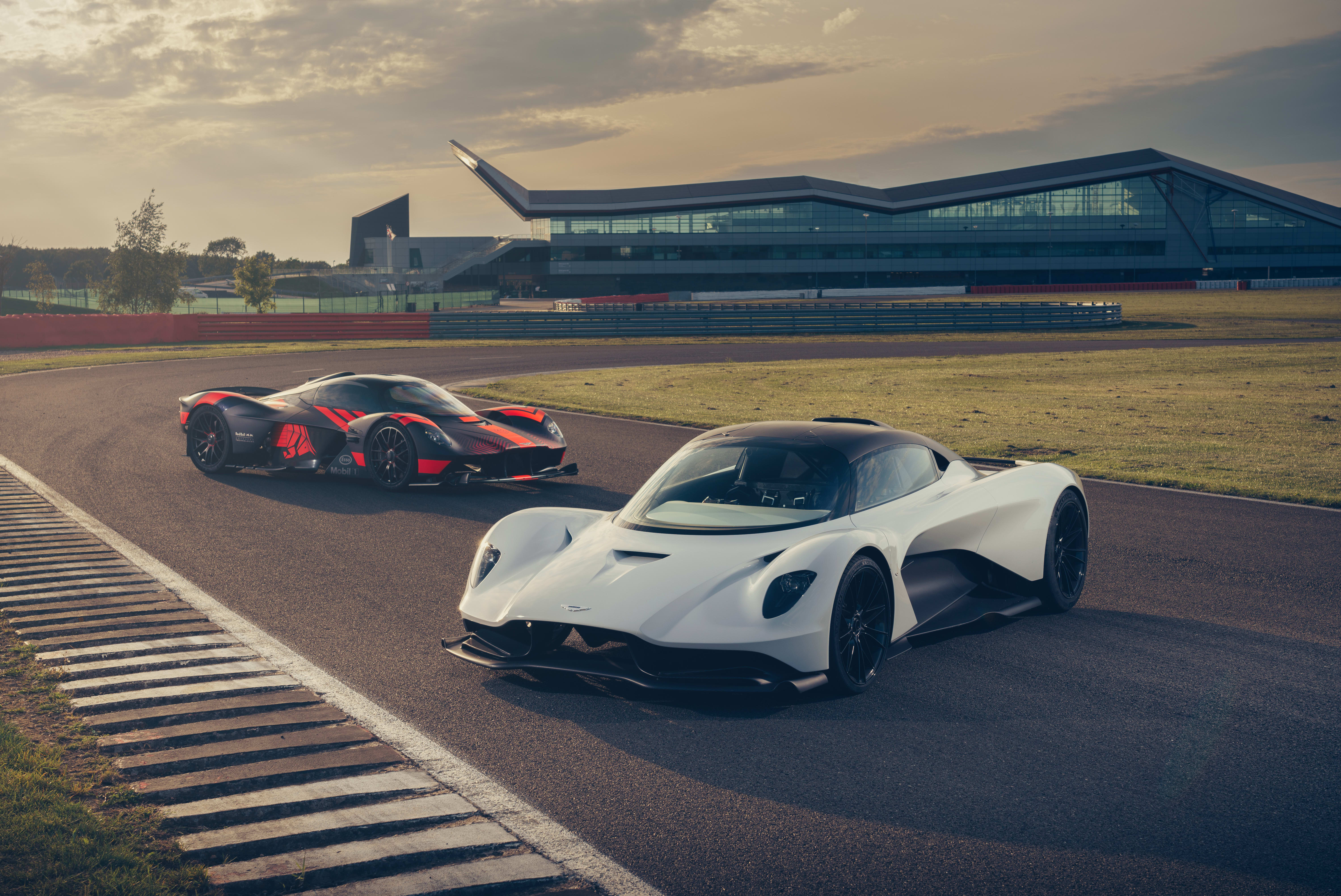 Aston Martin Valhalla and Valkyrie