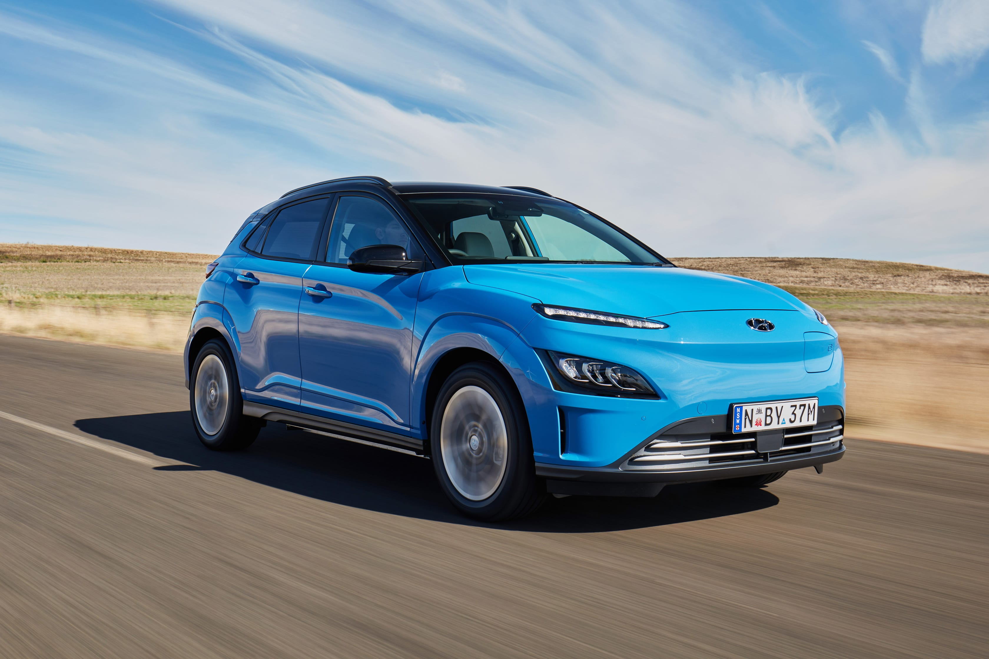 2021 Hyundai Kona Electric Highlander test drive review
