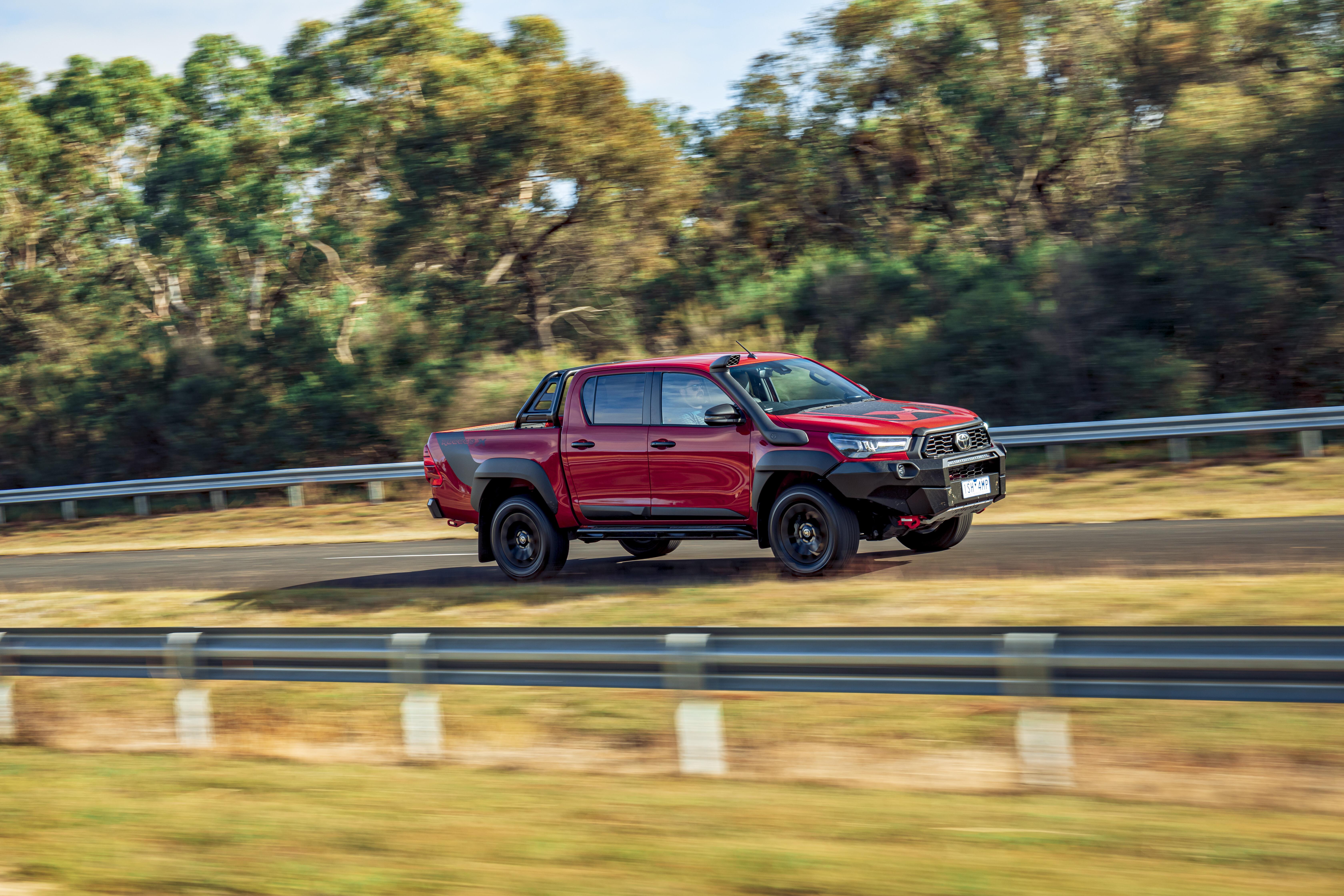 4 X 4 Australia Comparisons 2021 May 21 Toyota Hilux Rugged X Drive