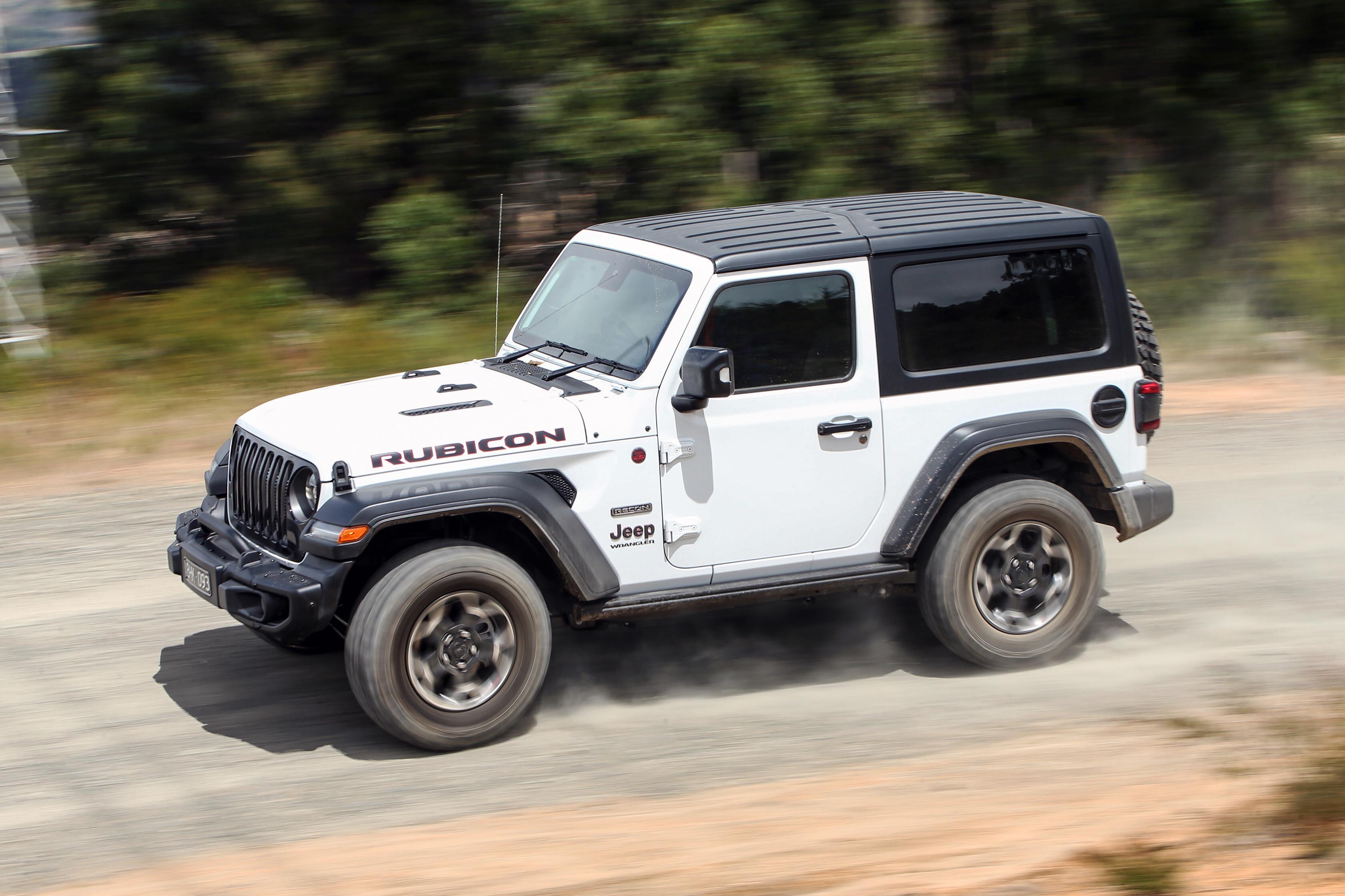 Wheels Reviews 2021 Jeep Wrangler Rubicon Recon Side Profile