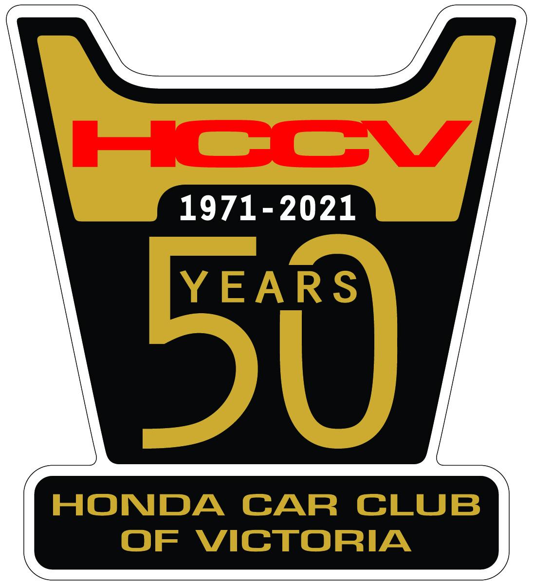 Honda Car Clubof Victoria 50 Yearslogo