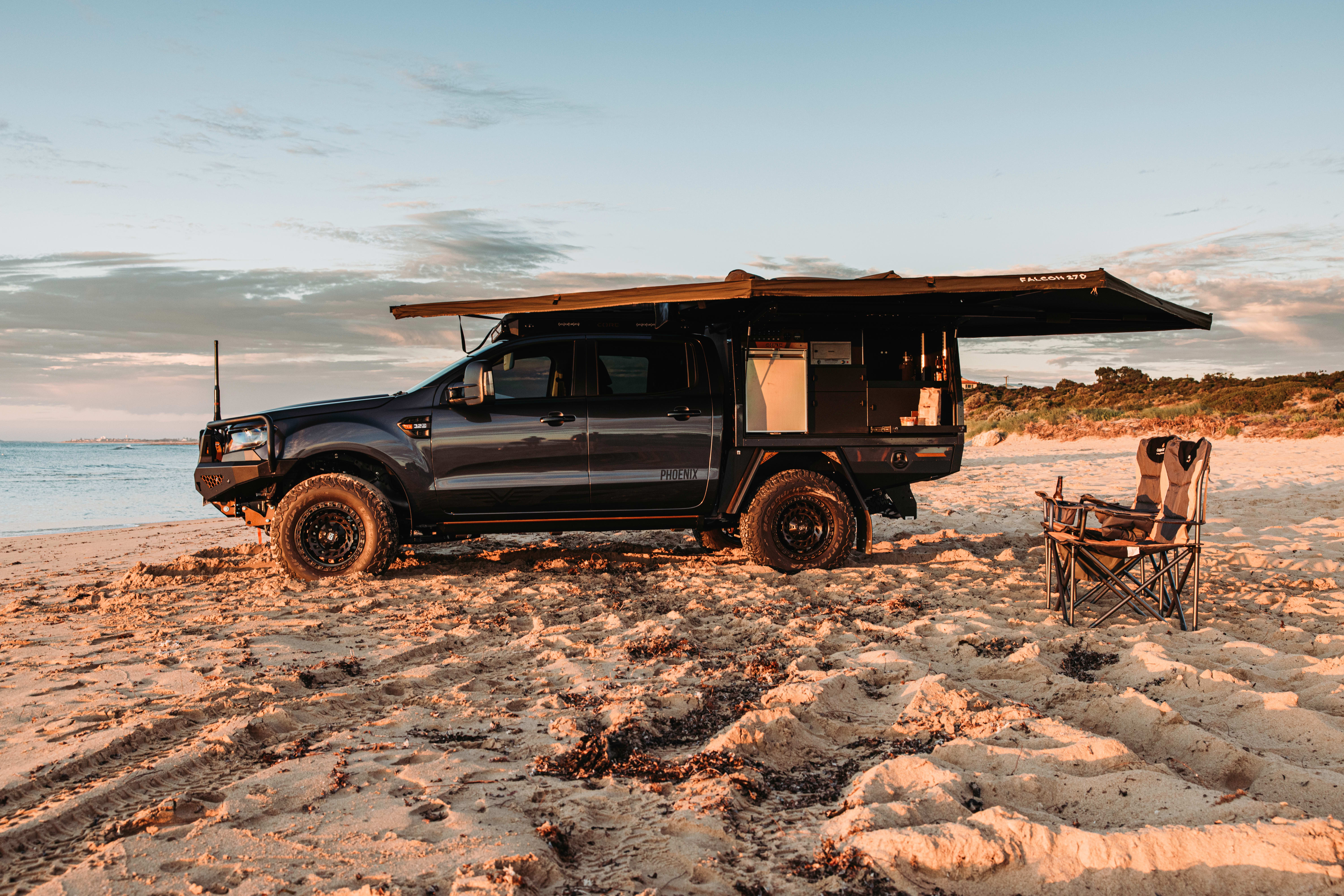 4 X 4 Australia Reviews 2021 August 2021 Core Offroad Ford Ranger Side 2