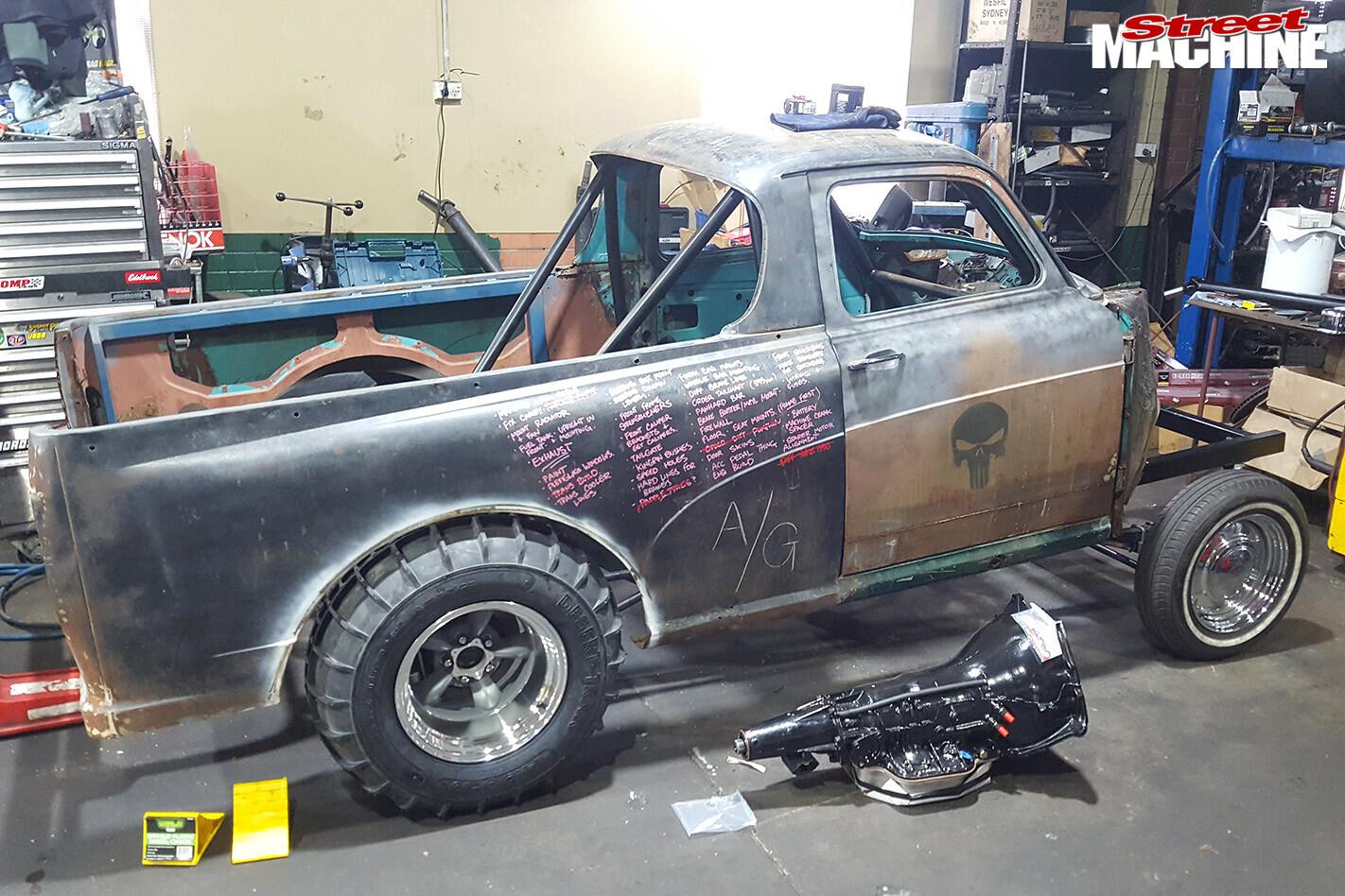 Austin A50 ute build