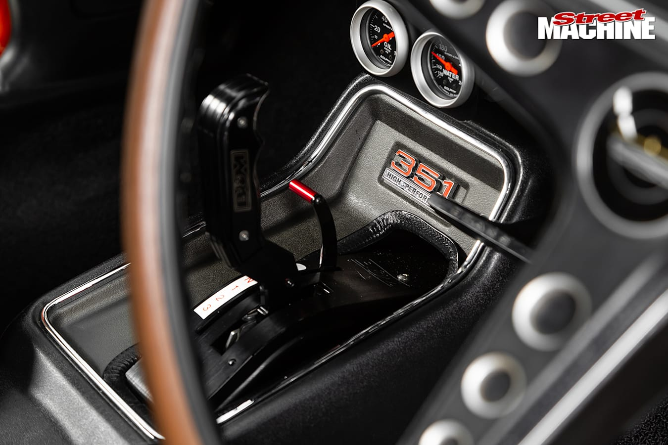 Street Machine Features Ford Falcon Console