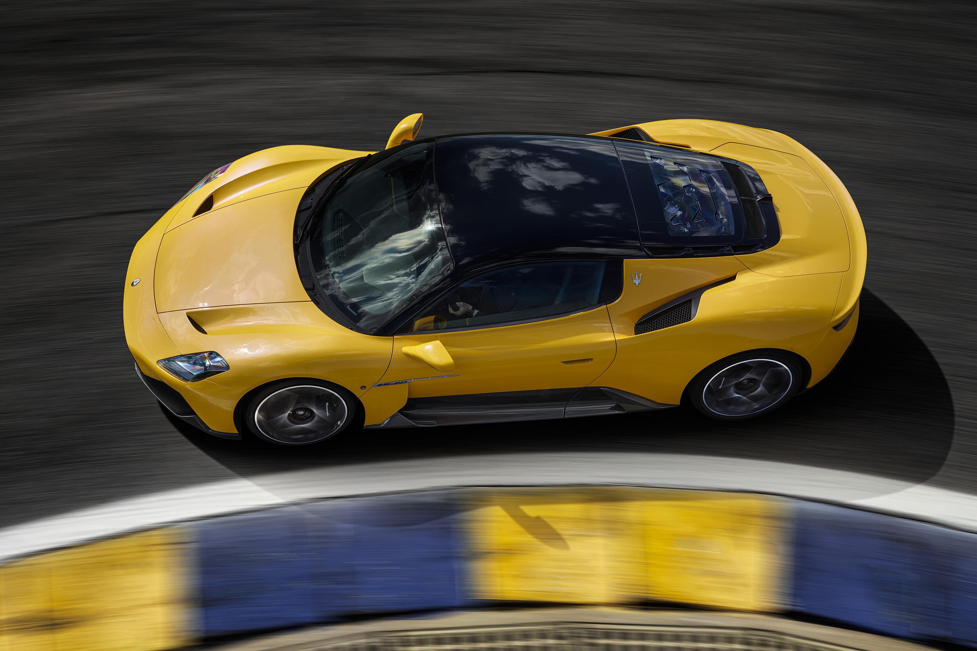 Wheels Reviews 2021 Maserati MC 20 Top Design