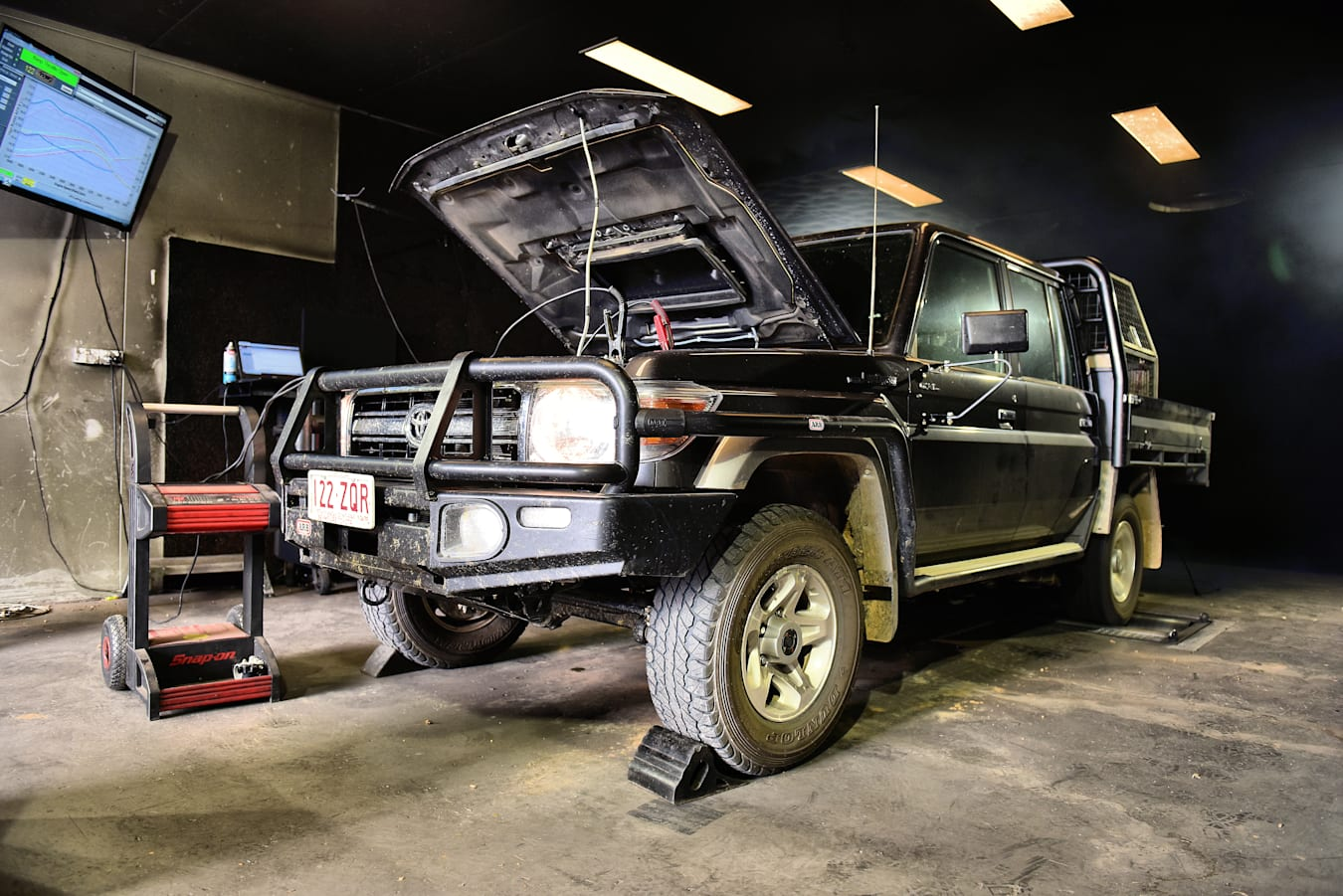 Street Machine Features Diesel Toyota Land Cruiser 5