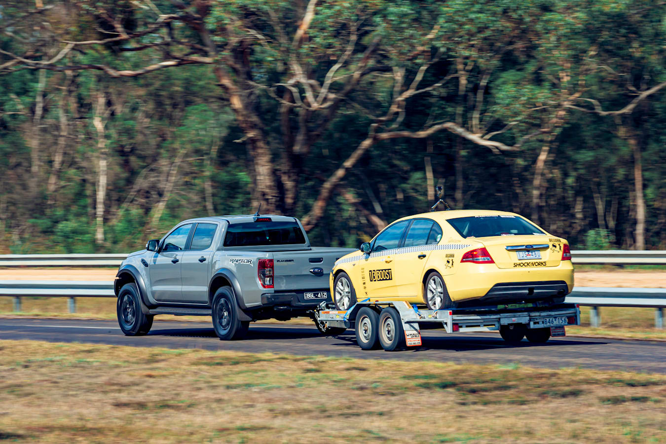 4 X 4 Australia Comparisons 2021 May 21 Ford Ranger Raptor Towing Performance
