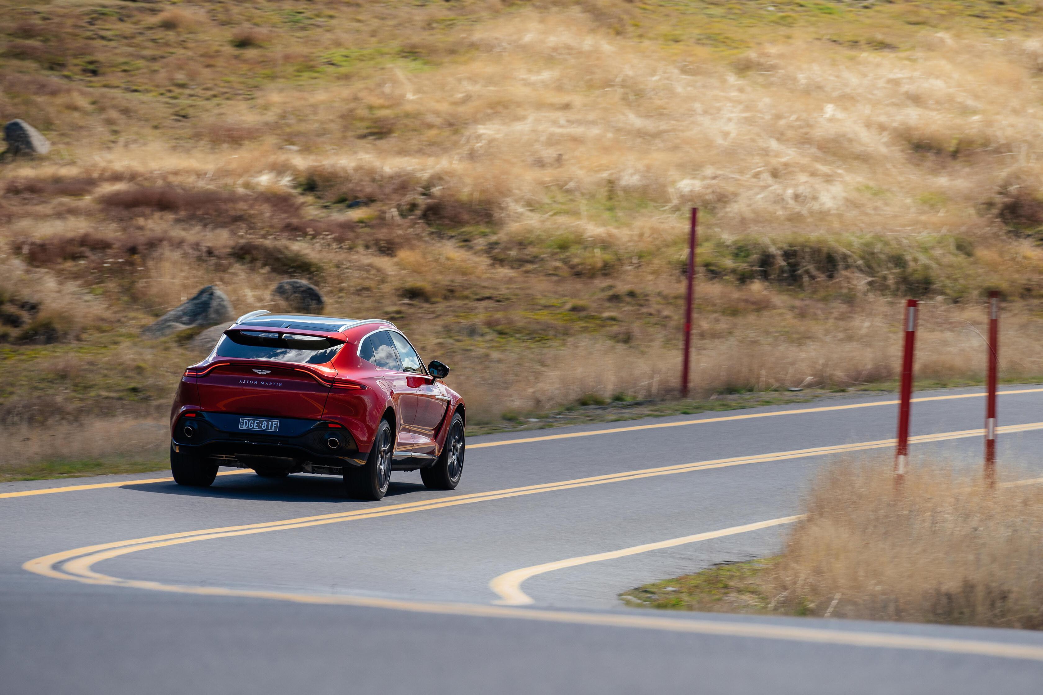 Wheels Reviews 2021 Aston Martin DBX Road Handling Review