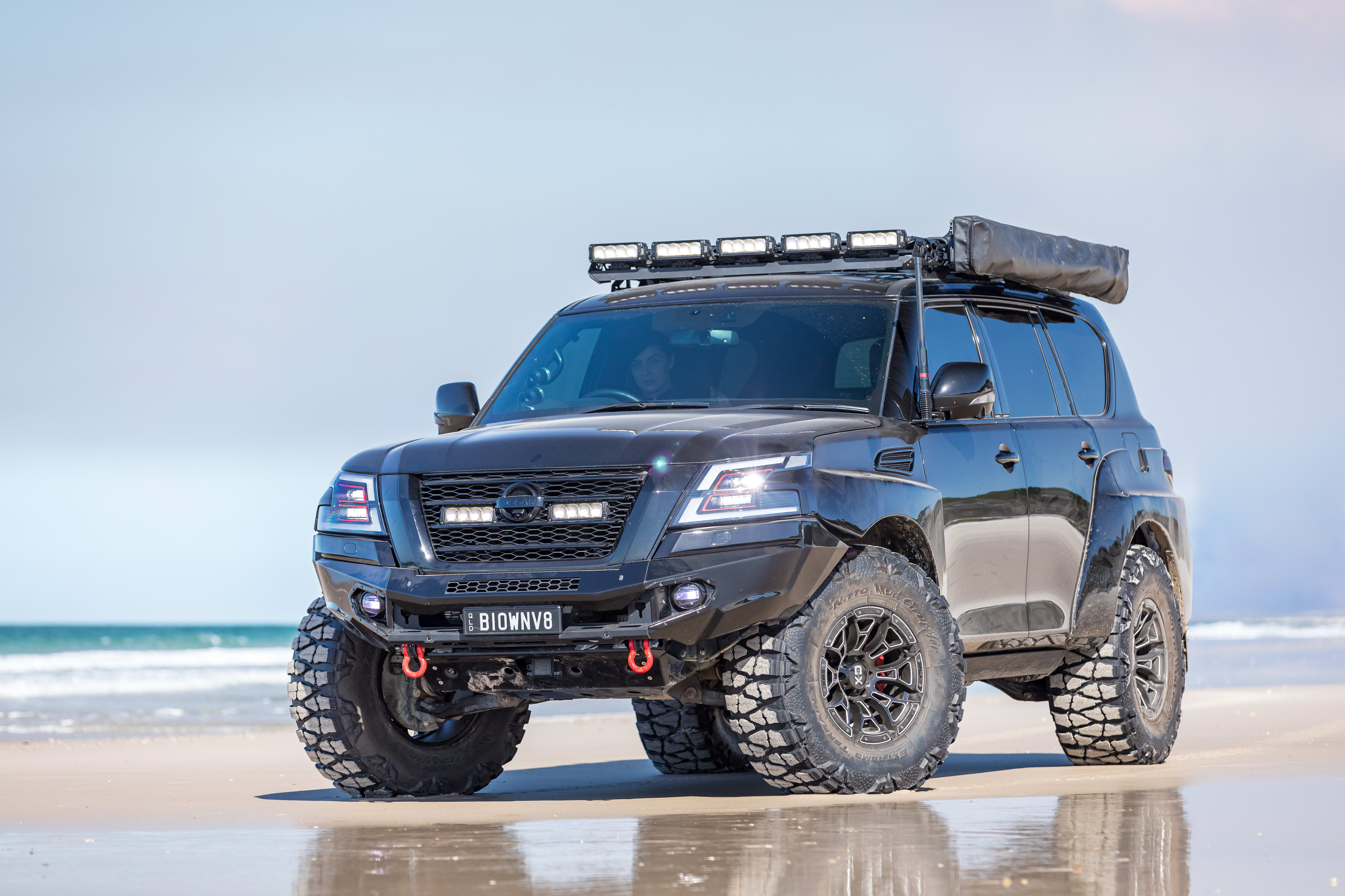 4 X 4 Australia Reviews 2021 September 2021 Custom Nissan Y 62 Patrol Beach 2