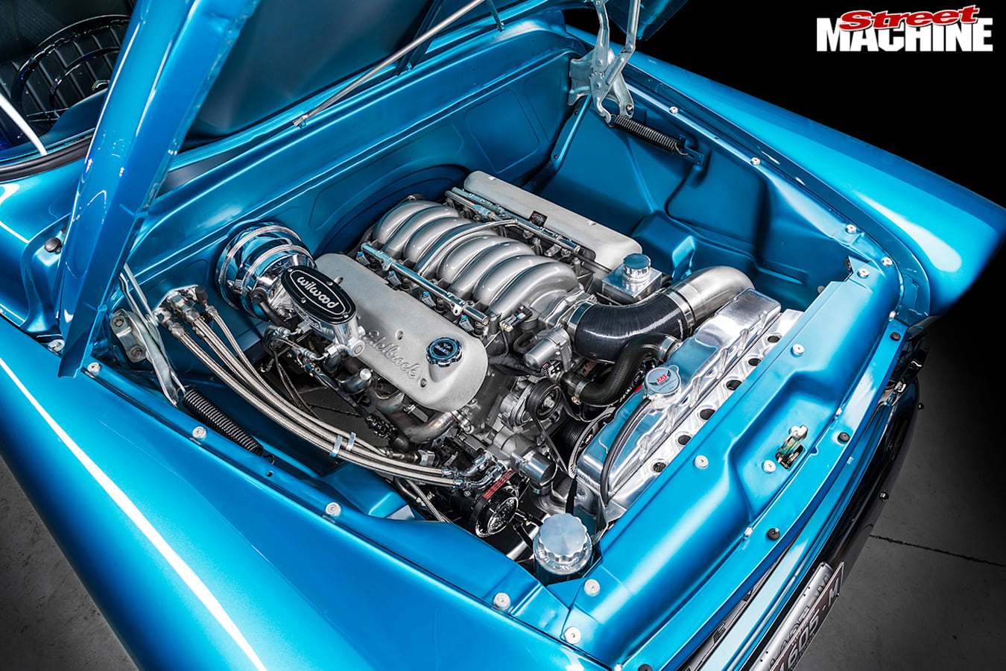 Street Machine Features Chevrolet Apache Engine Bay 2