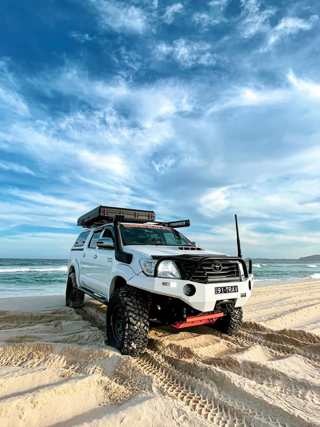 4 X 4 Australia Reviews 2021 May 2021 2011 Toyota SR 5 Hilux Readers Rig