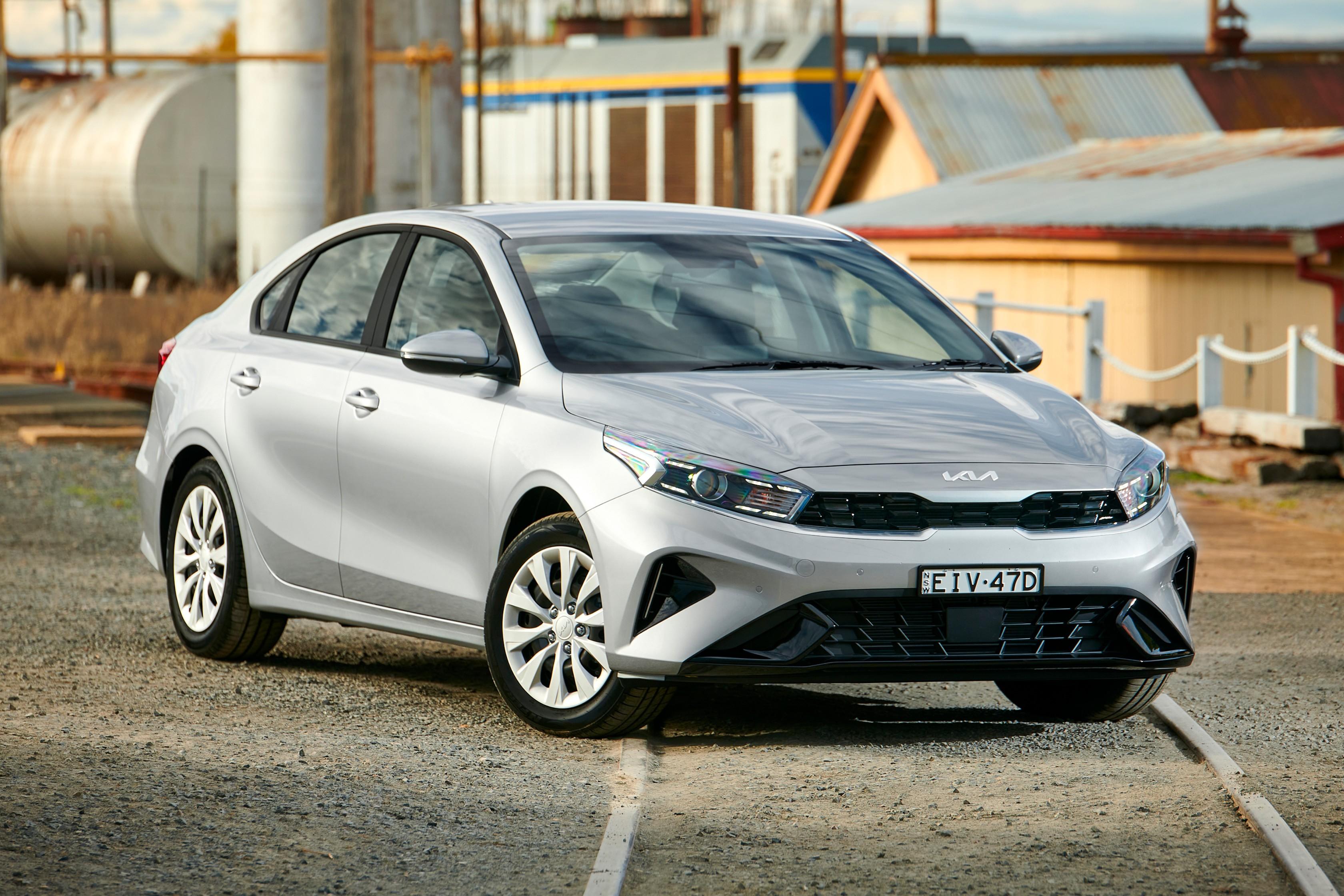 Which Car Car Reviews 2022 Kia Cerato S Facelift Front