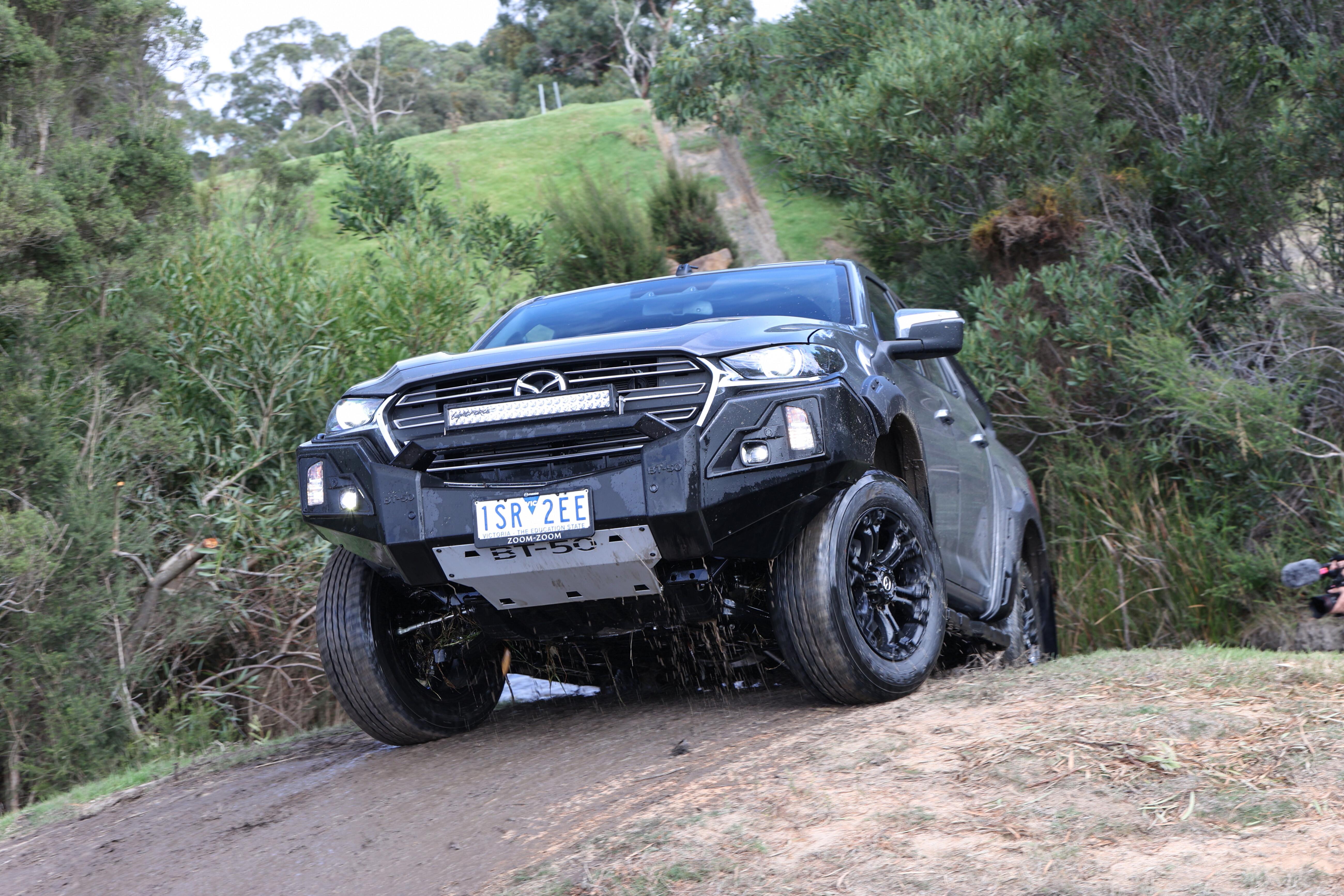 4 X 4 Australia Comparisons 2021 May 21 Mazda BT 50 Thunder Hillclimb