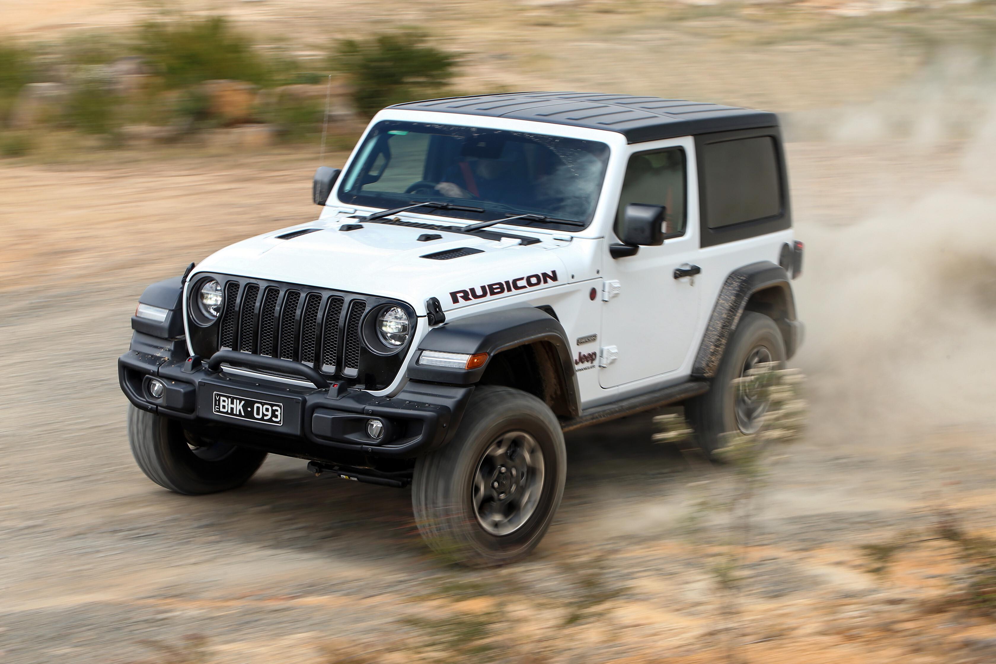 2021 Jeep Wrangler Rubicon Recon review drive