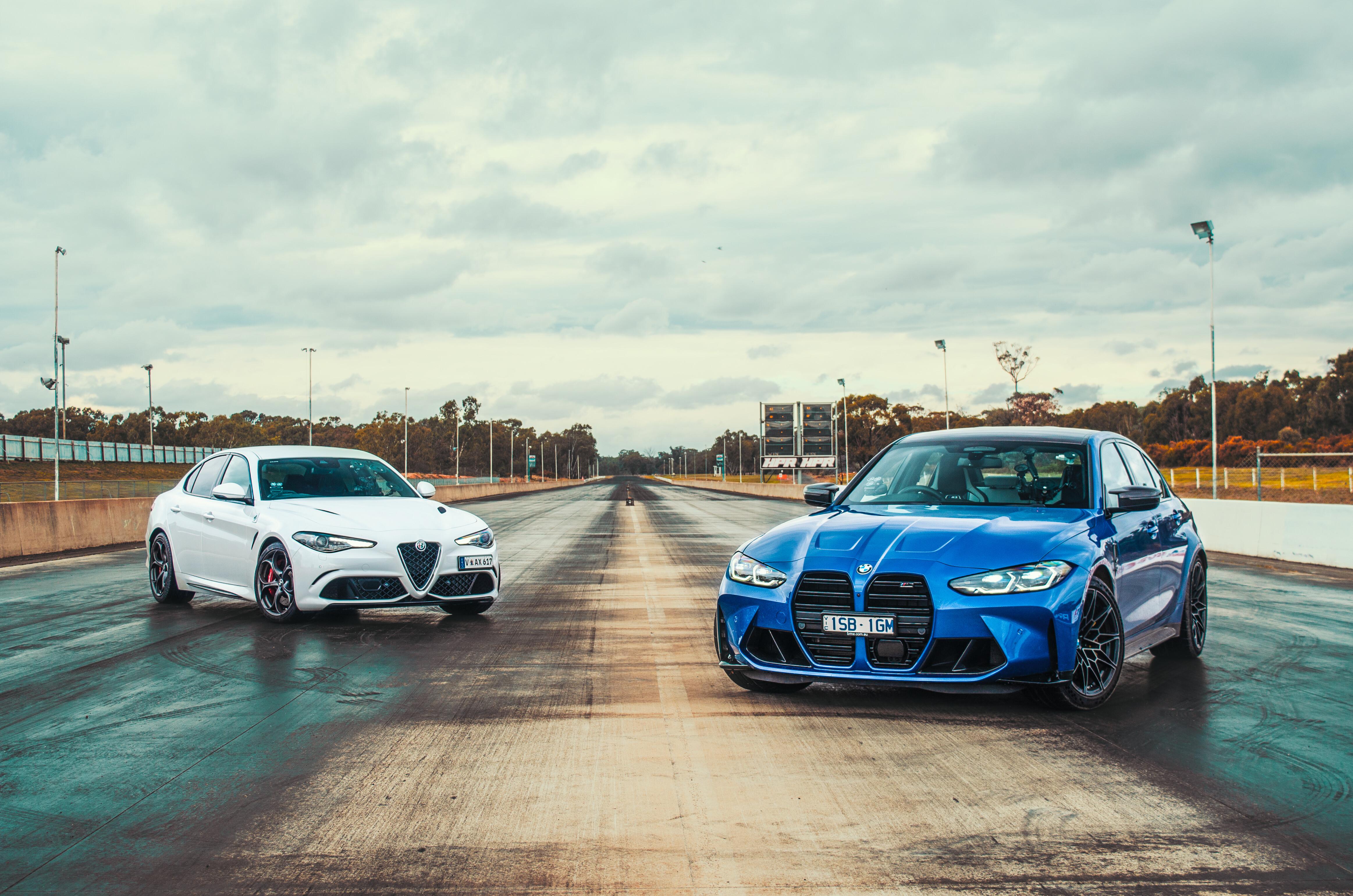 BMW M3 Competition v Alfa Romeo Giulia Q