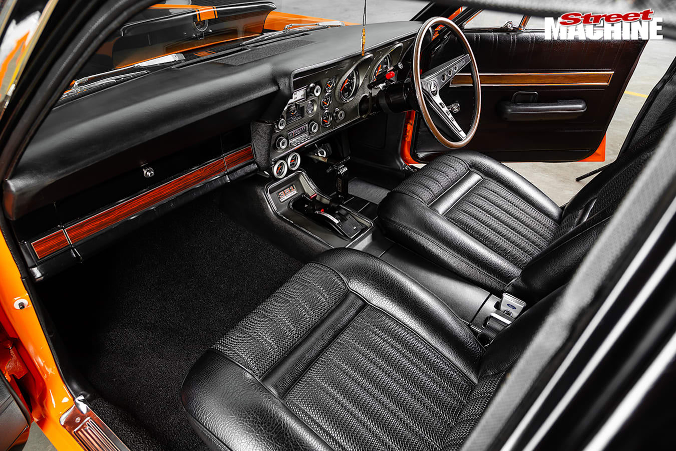 Street Machine Features Ford Falcon Interior 2