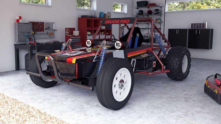 Tamiya to release life-size driveable electric buggy