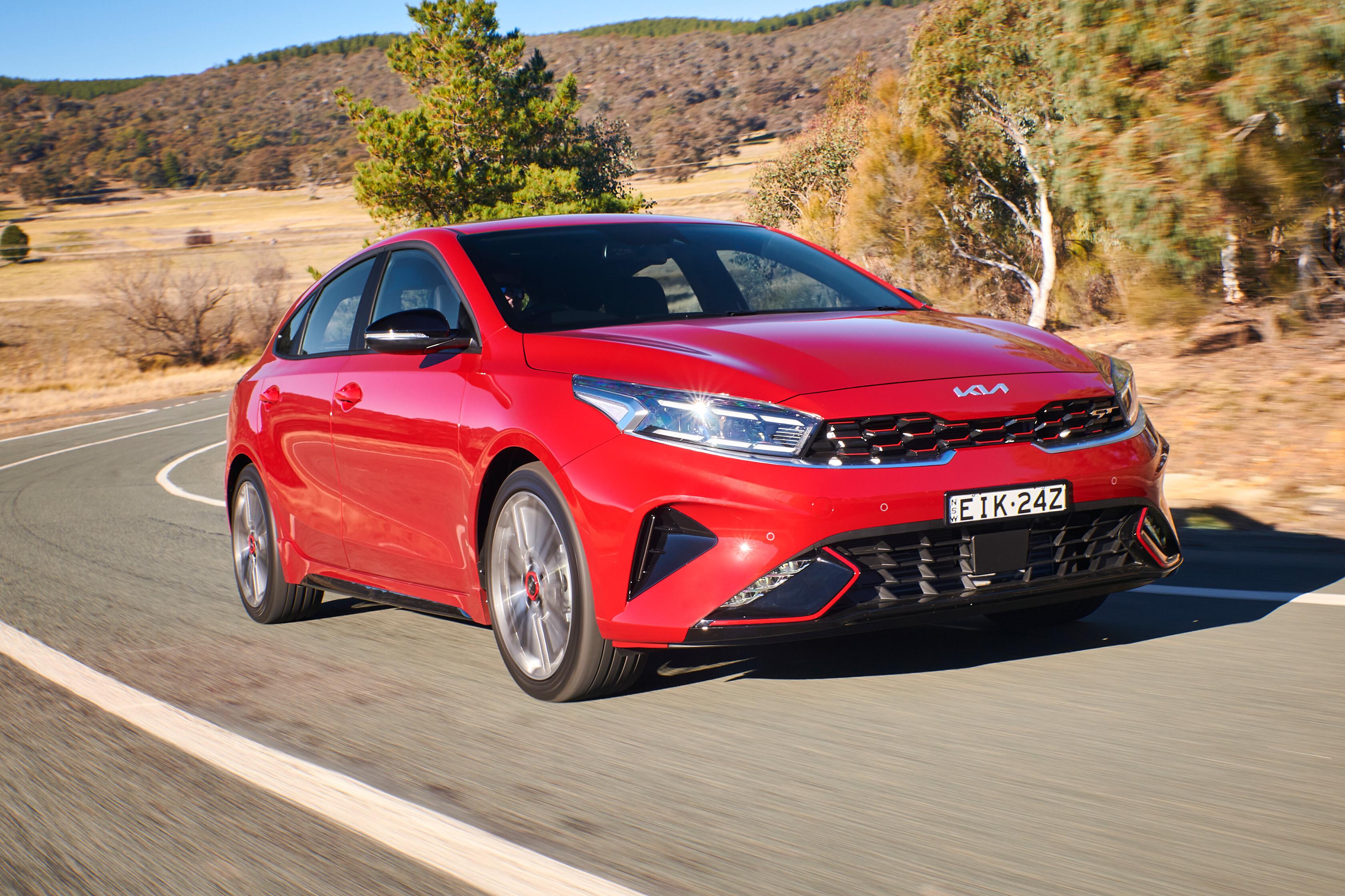 2022 Kia Cerato facelift Australian first drive review