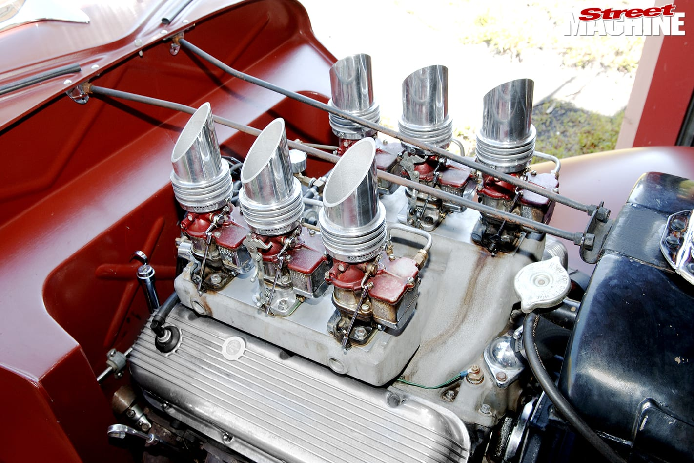 Hot Rod engine bay