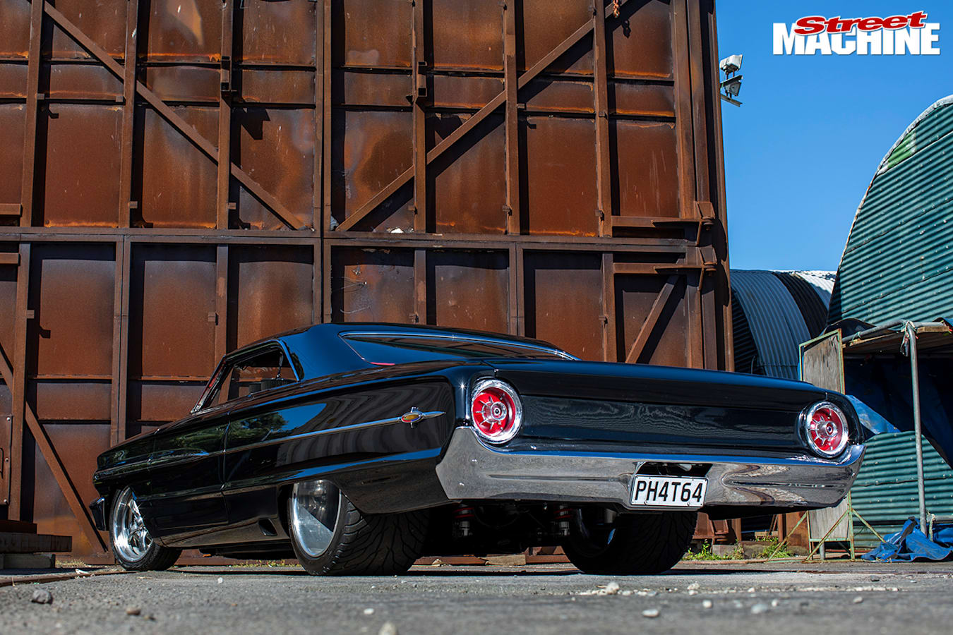 Street Machine Features Ford Galaxie Rear Angle