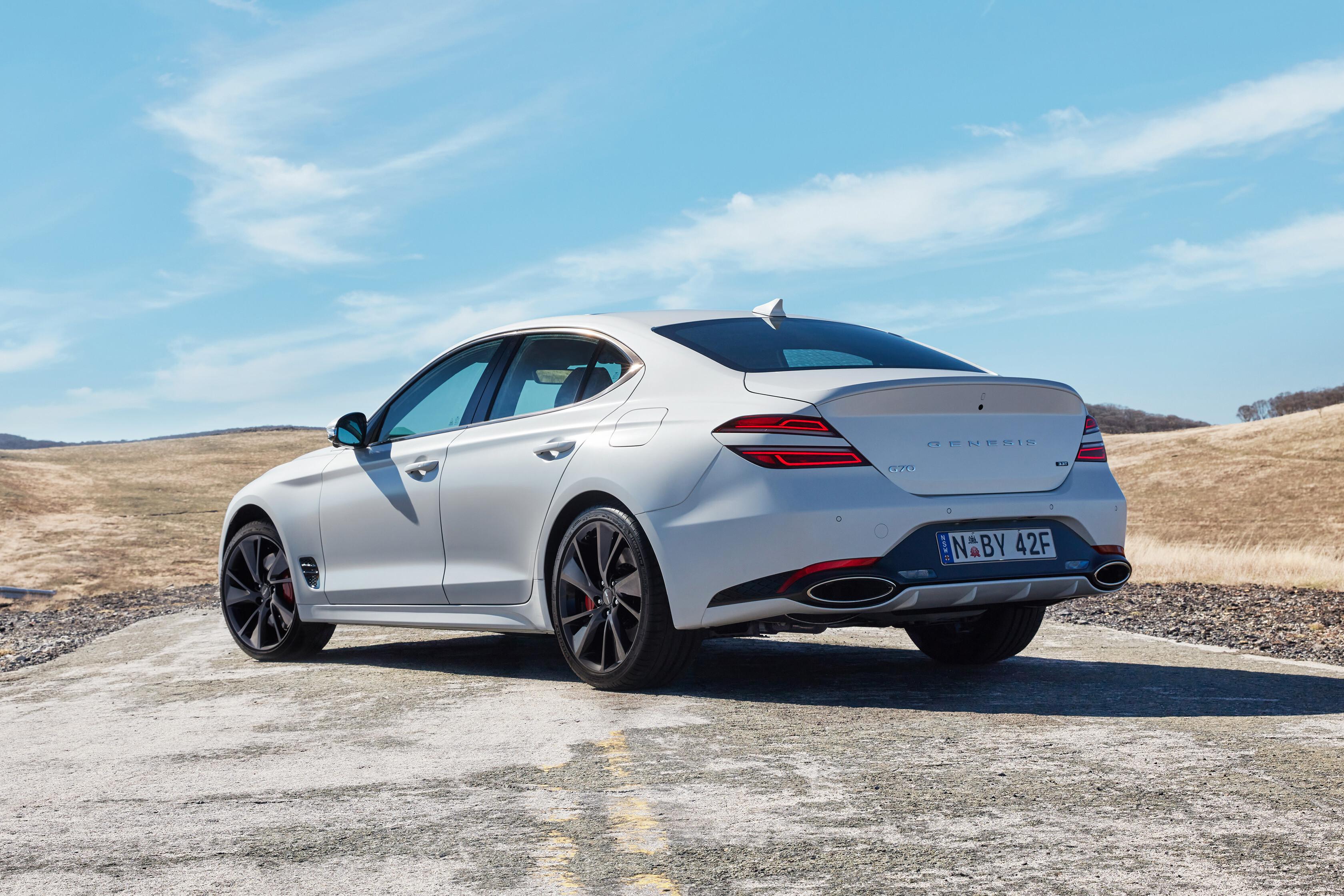 Wheels Reviews 2021 Genesis G 70 Rear Design