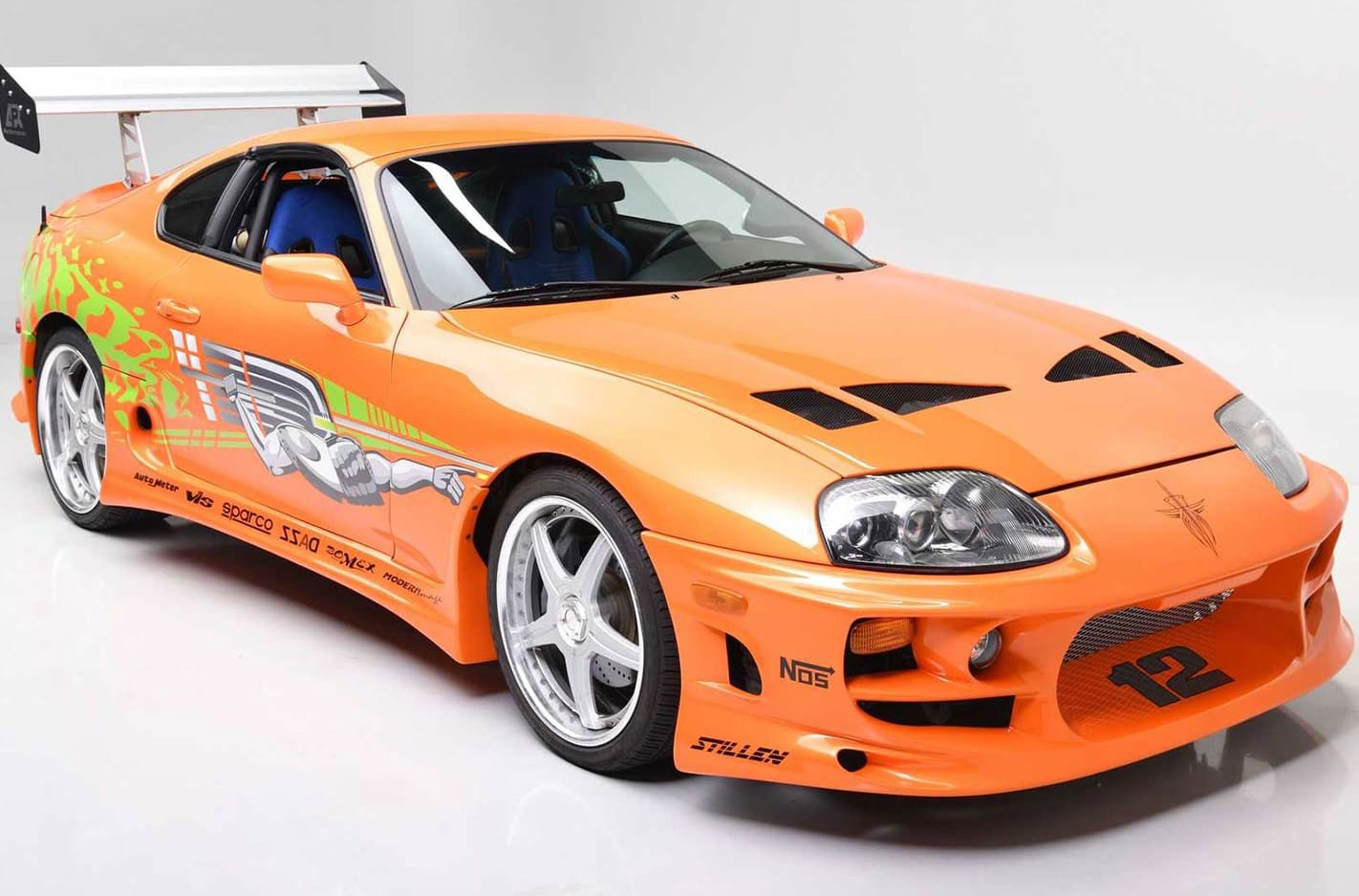The Fast and the Furious Supra uuction main
