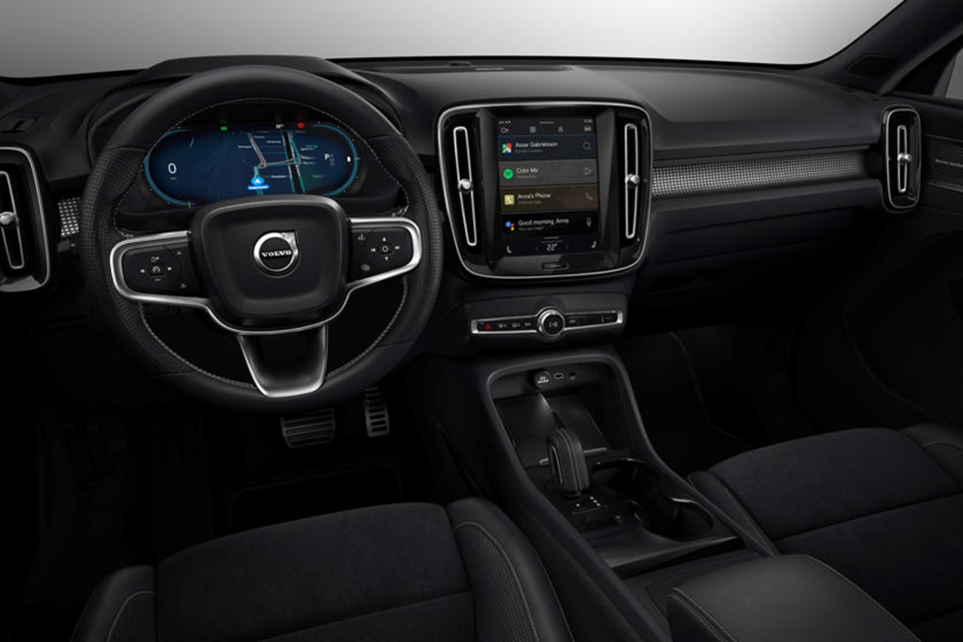 2021 Volvo Xc 40 Recharge Dashboard Carbuzz 639056