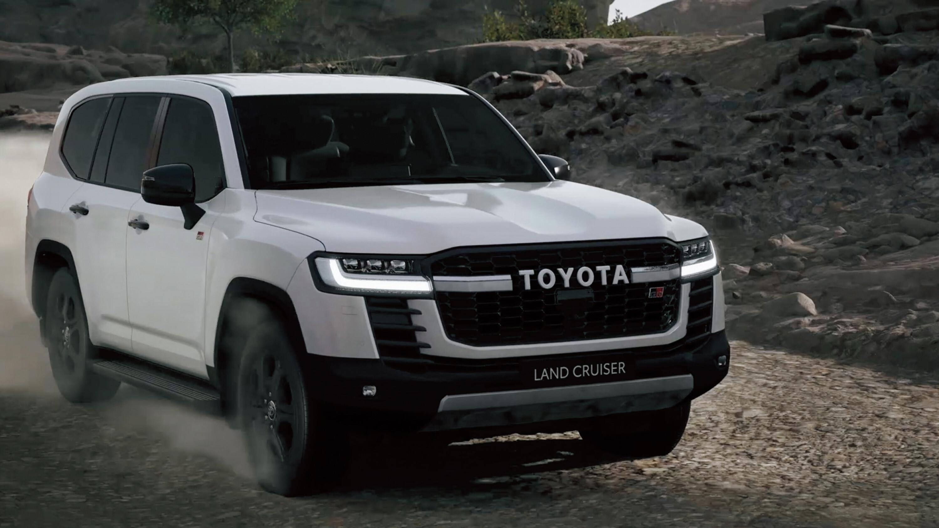 News 2022 Toyota Land Cruiser 300 Series 4