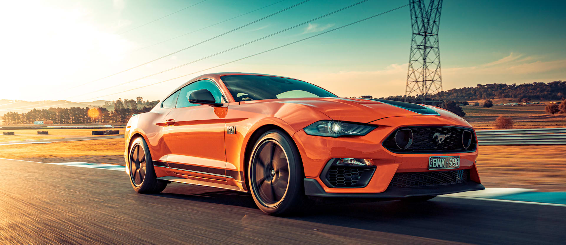 2021 Ford Mustang Mach 1 Track Test