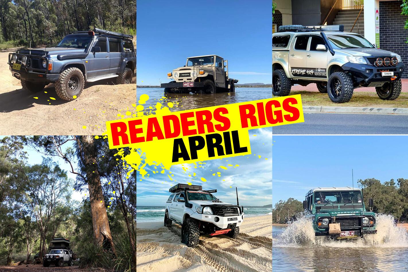 Readers 4x4s April 2021