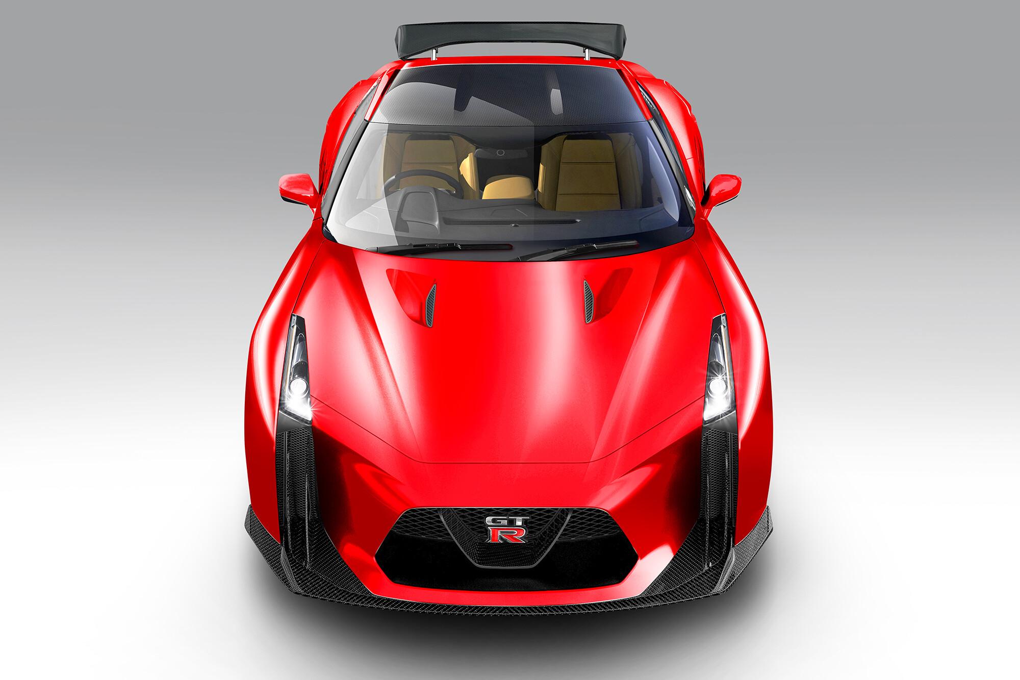 Motor News New GTR When Front