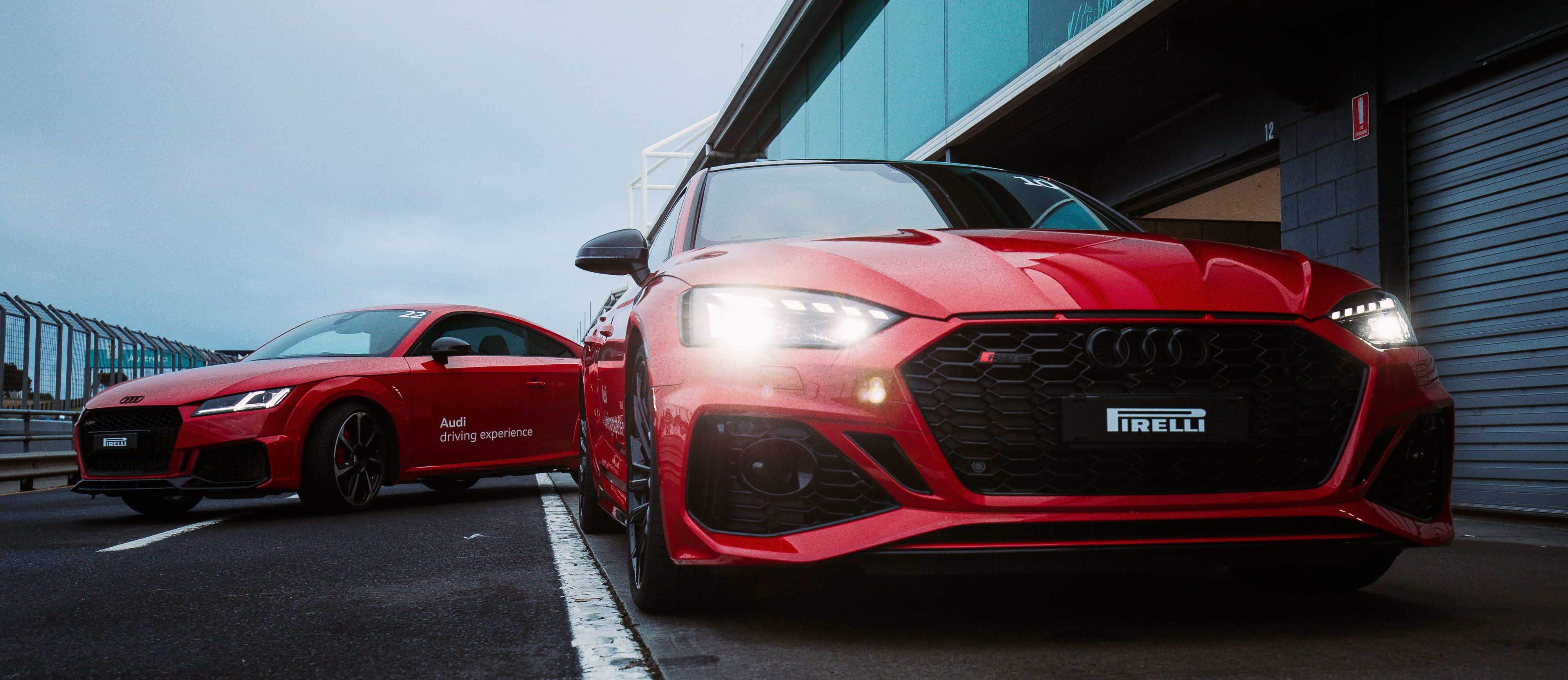 We tamed Australia's scariest race track with the Audi Driving Experience
