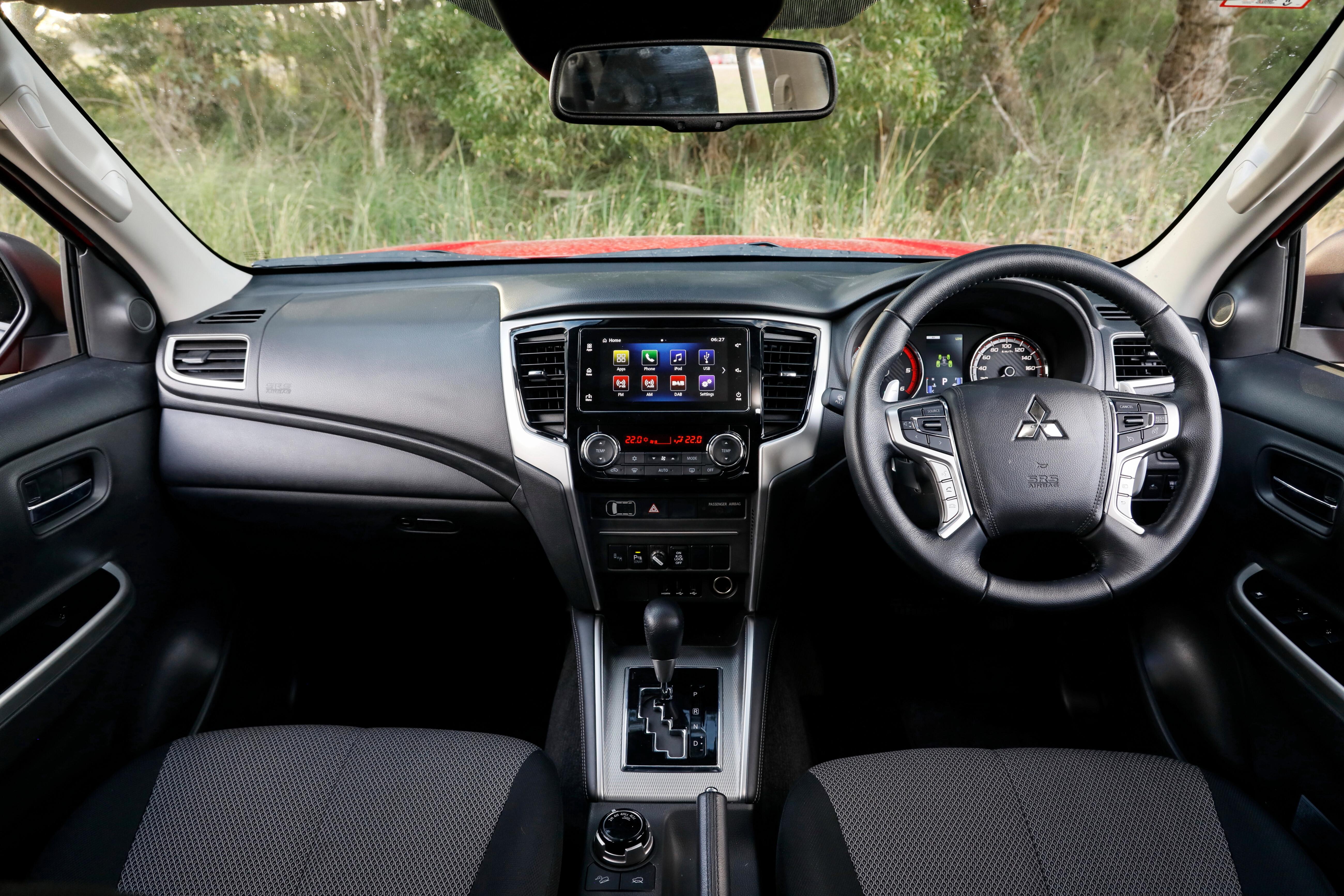 4 X 4 Australia Comparisons 2021 May 21 Mitubishi Triton GLS Interior