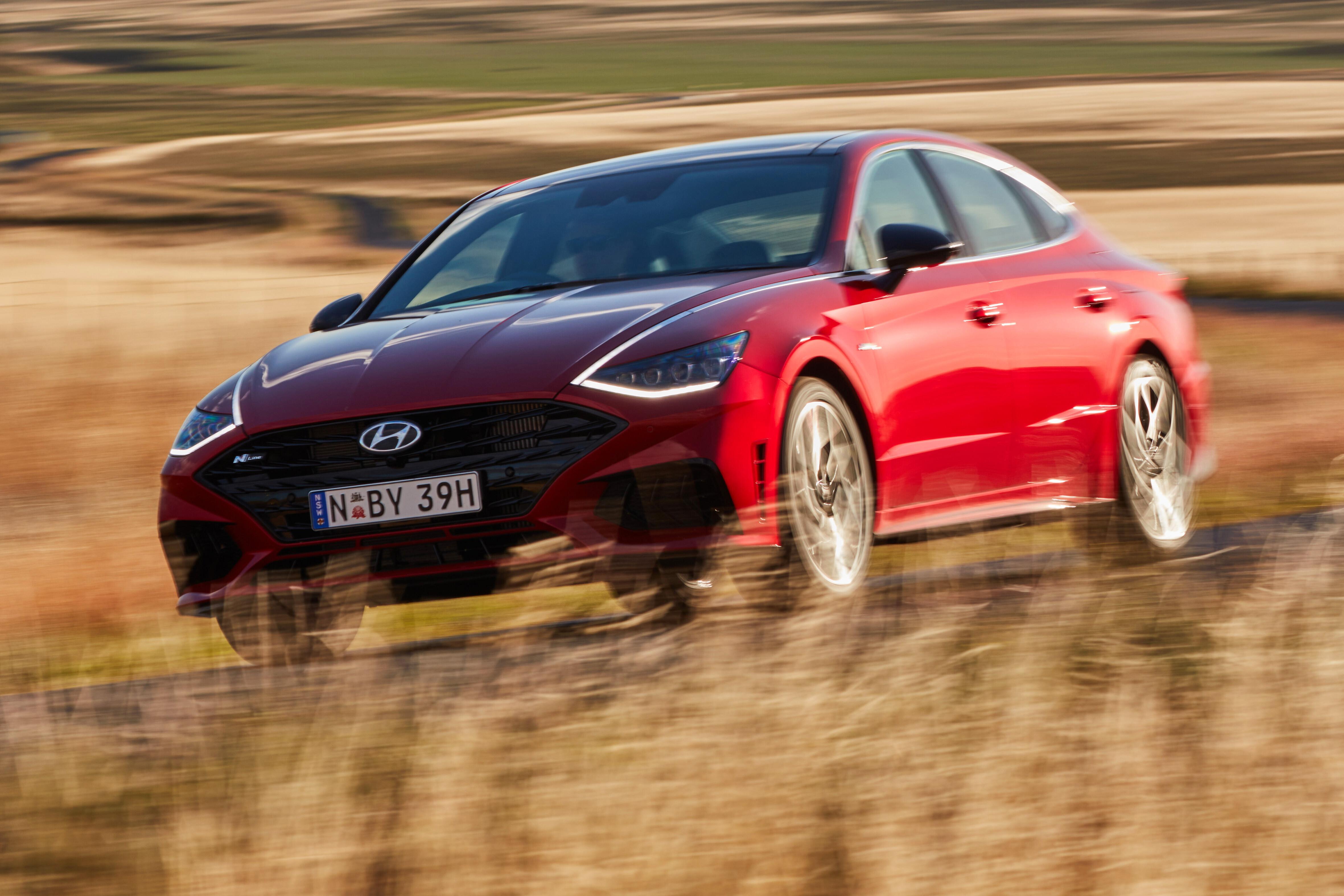 Wheels Reviews 2021 Hyundai Sonata N Line Review Australia 45