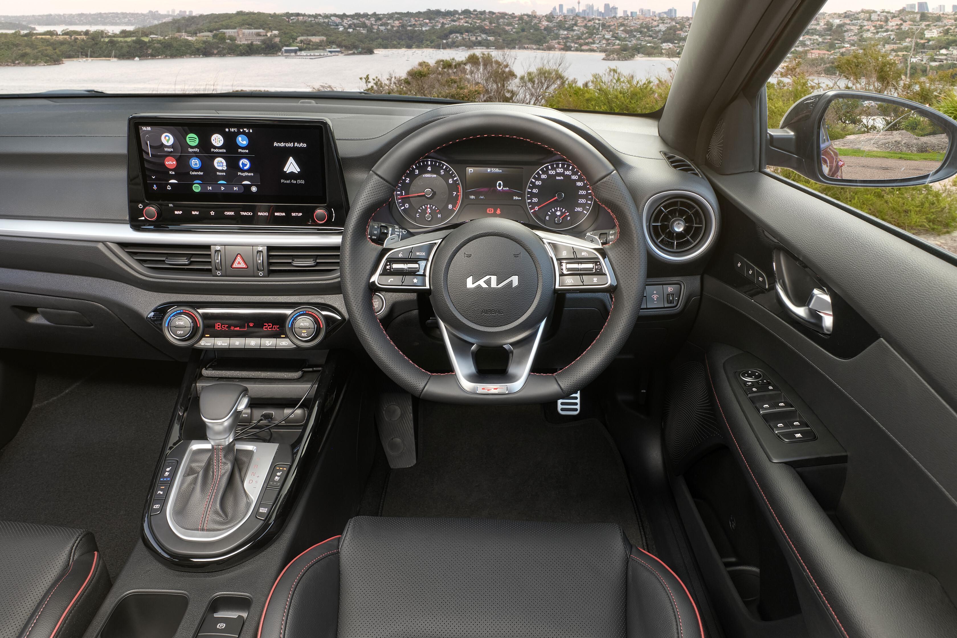 Which Car Car Reviews 2022 Kia Cerato GT Facelift Interior