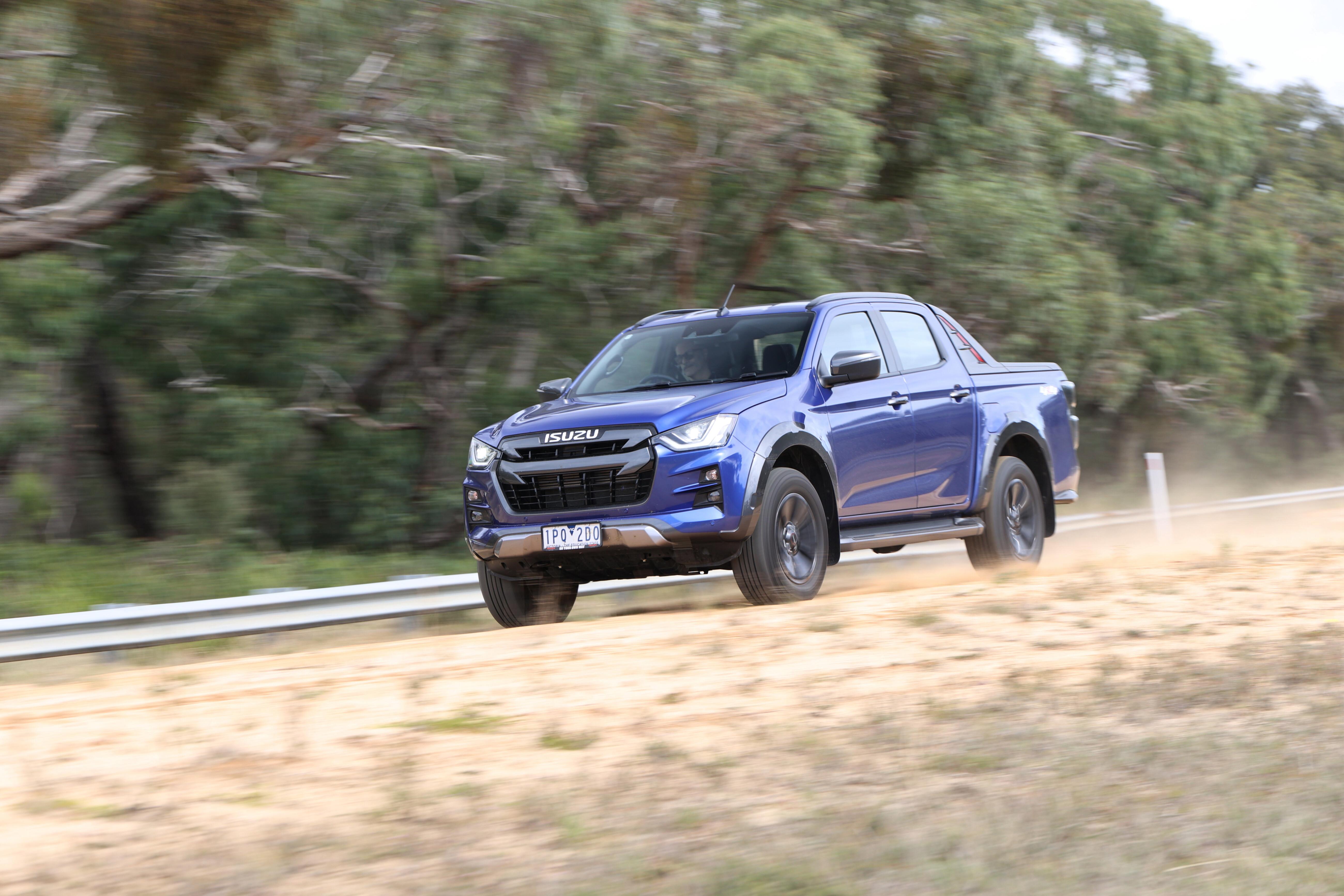 4 X 4 Australia Comparisons 2021 May 21 Isuzu D Max X Terrain Off Road Drive Review
