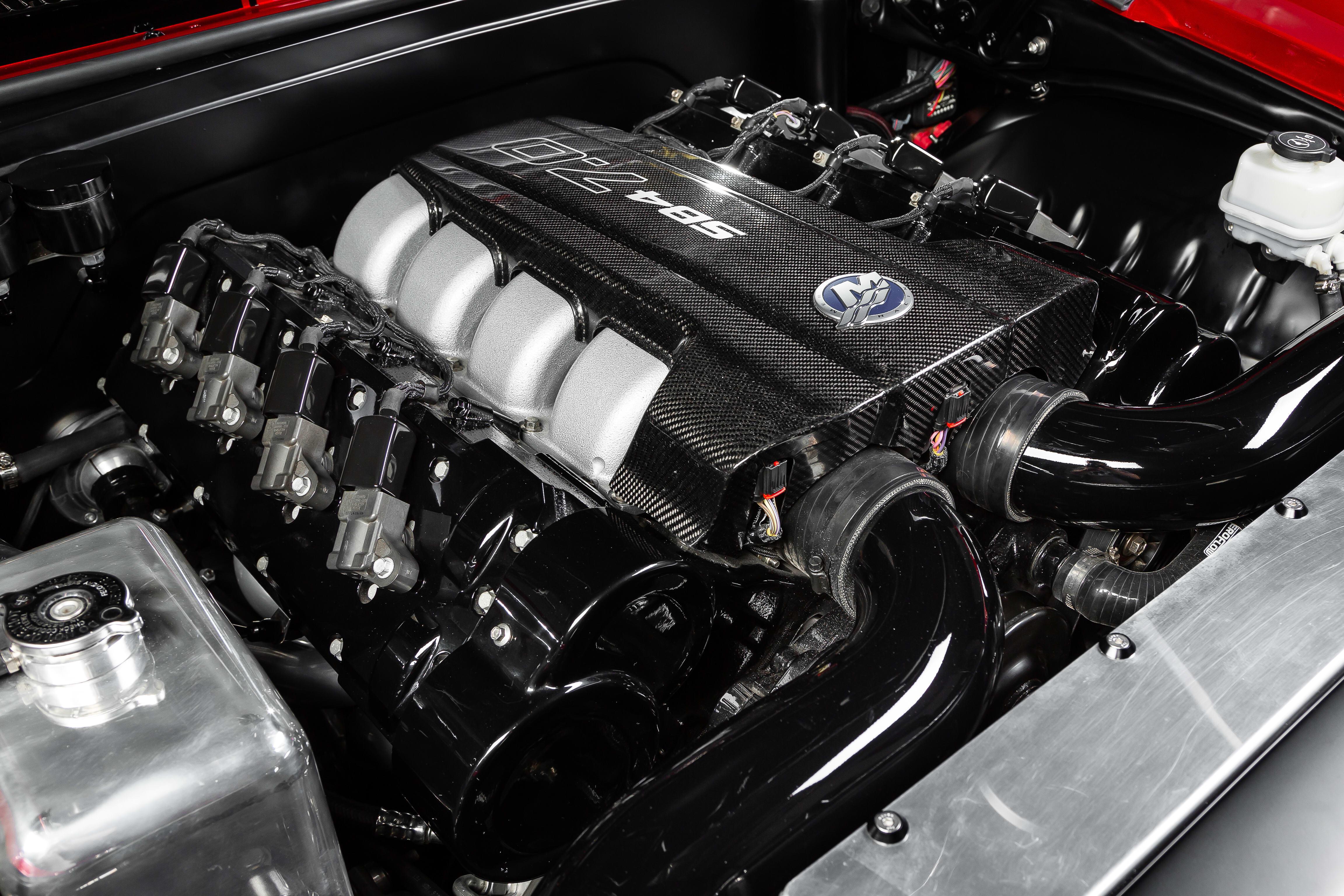 Street Machine Features Chevrolet Camaro Engine Bay 3
