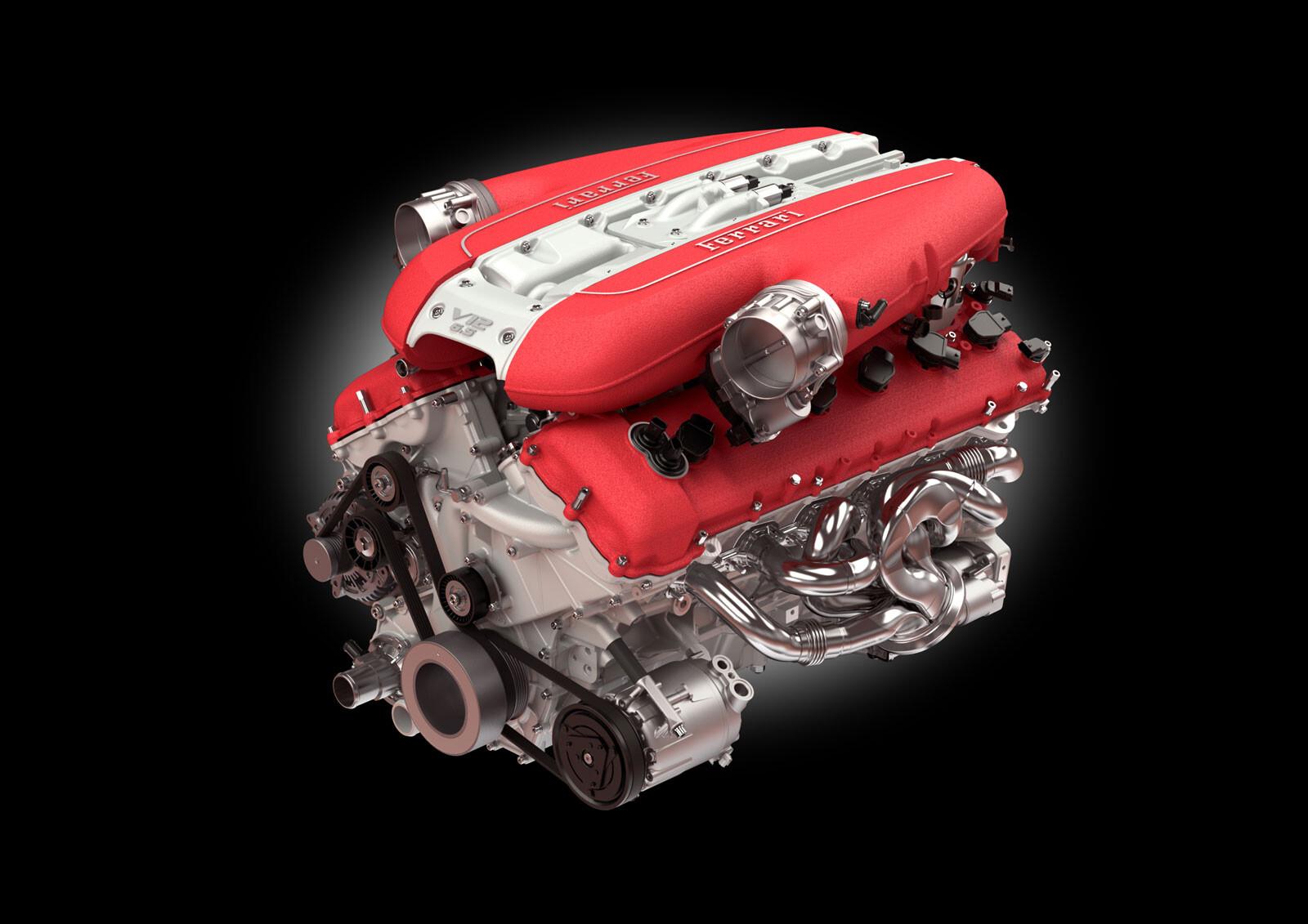 Ferrari 812 Donk