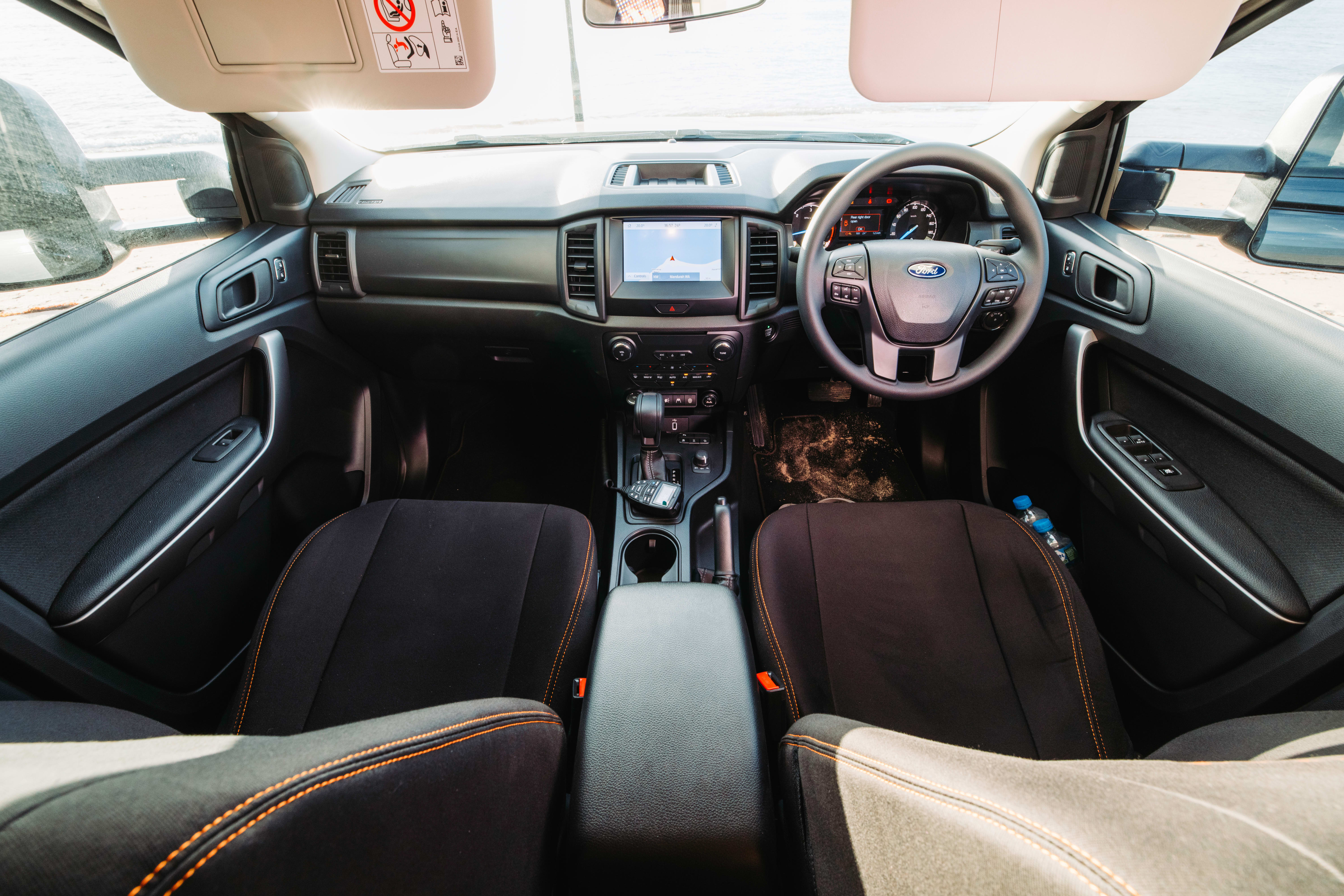 4 X 4 Australia Reviews 2021 August 2021 Core Offroad Ford Ranger Interior