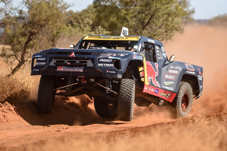 2021 Finke Desert Race Toby Price trophy truck