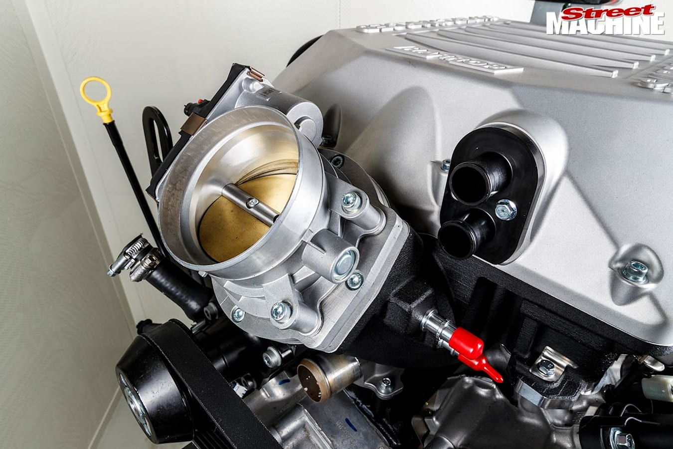 Street Machine Features Supercharged Godzilla 7 3 L V 8 Induction