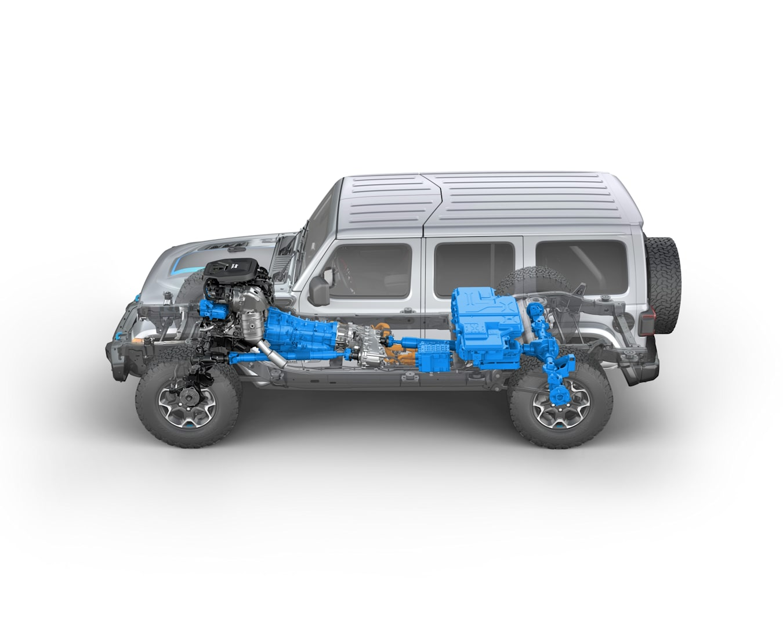 News Jeep Wrangler 4 Xe PHEV 4