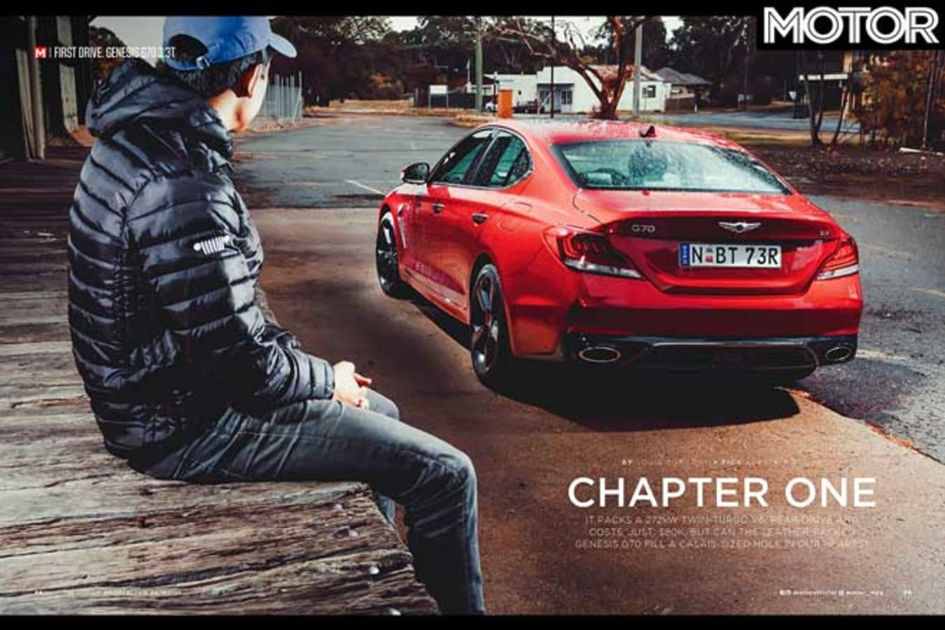 MOTOR August 2019 Issue Preview Genesis G 70 Feature Jpg