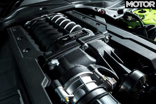 Ford Mustang R Spec Engine Jpg