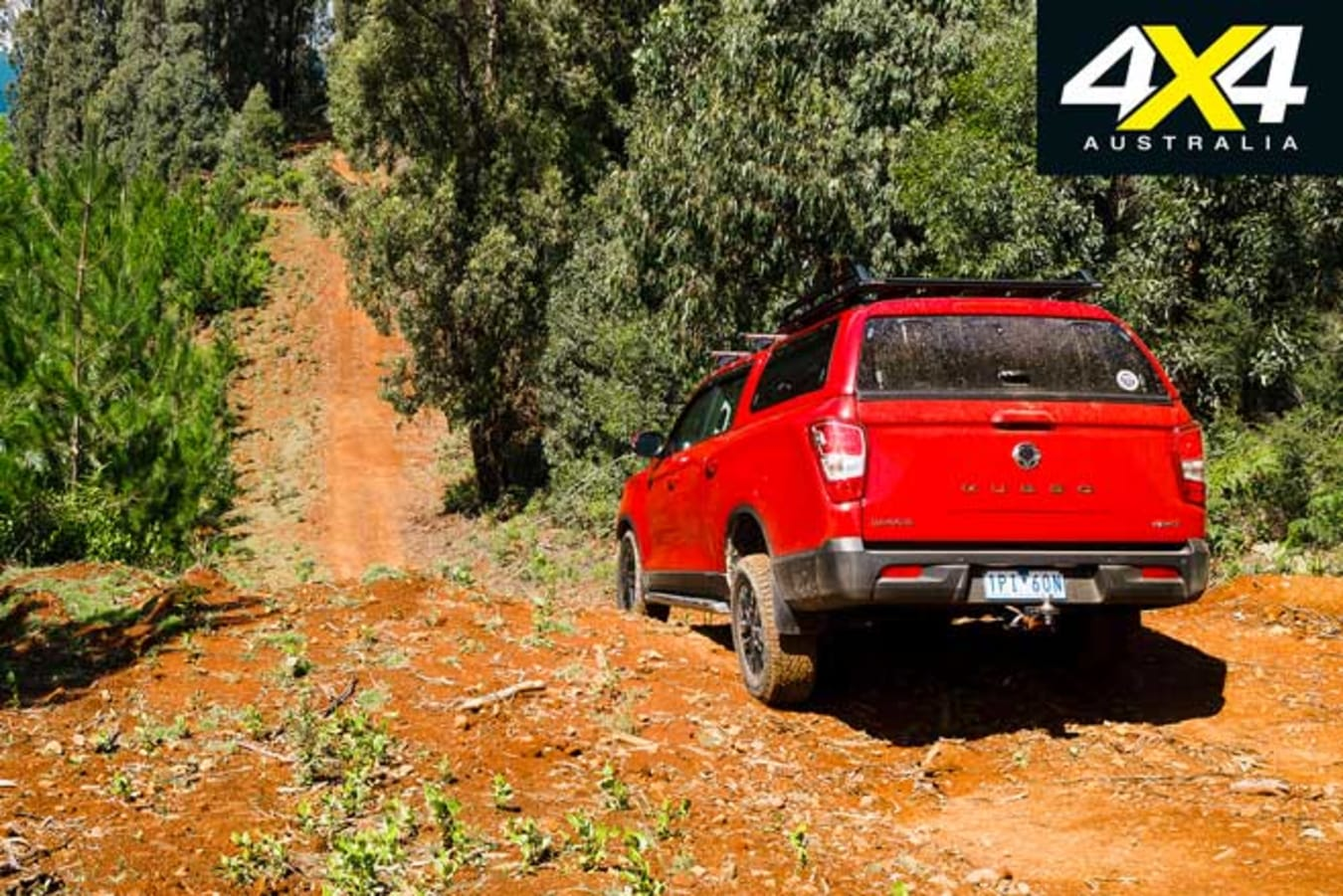 Ssangyong Musso XLV 4 X 4 Track Jpg