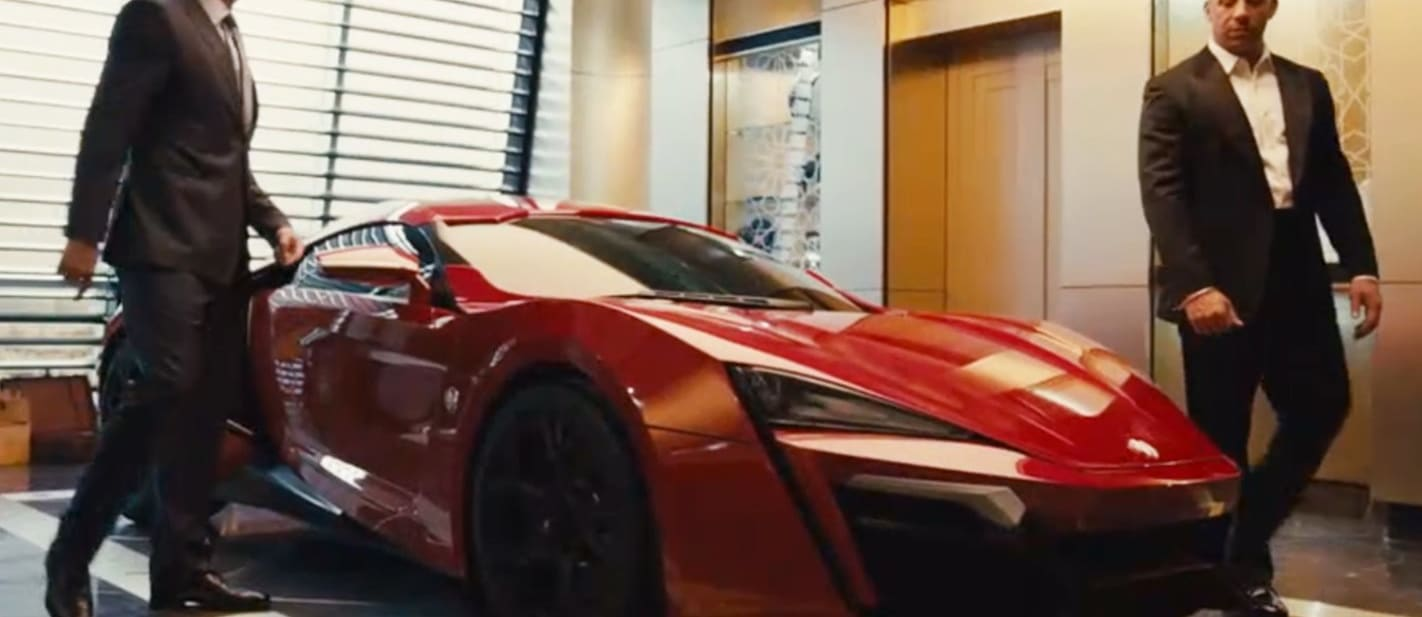 Lykan HyperSport Fast and Furious 7