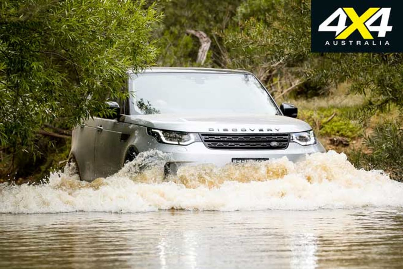 2020 4 X 4 Of The Year Land Rover Discovery Sd 6 Water Wading Jpg