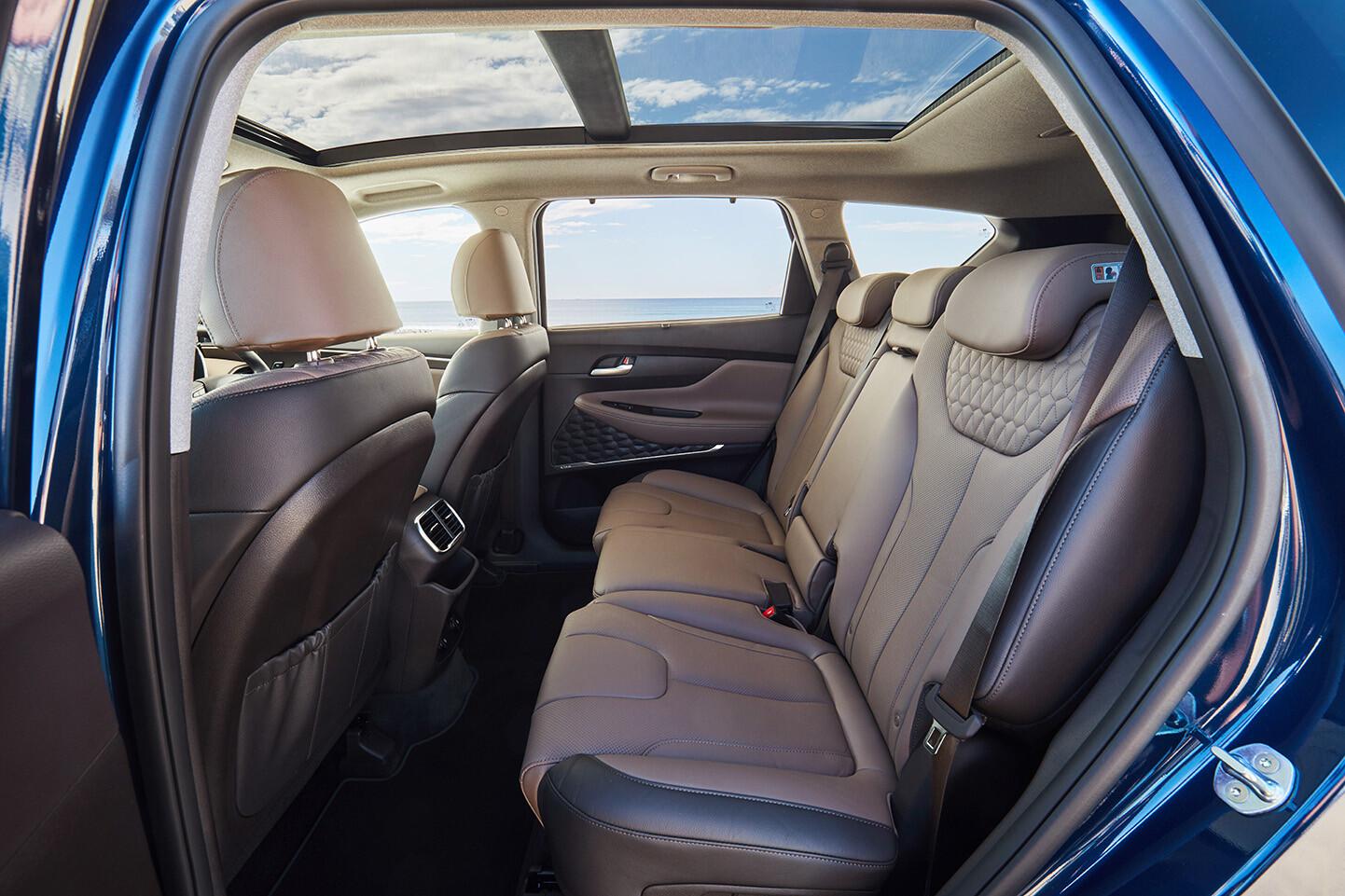 Hyundai Santa Fe middle row