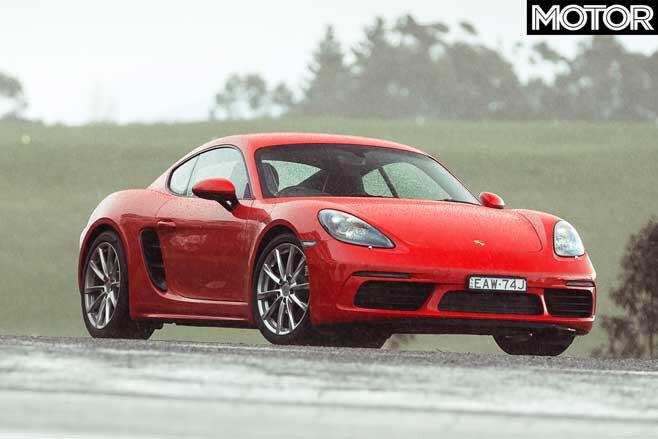 Porsche 718 Cayman Front Design Jpg