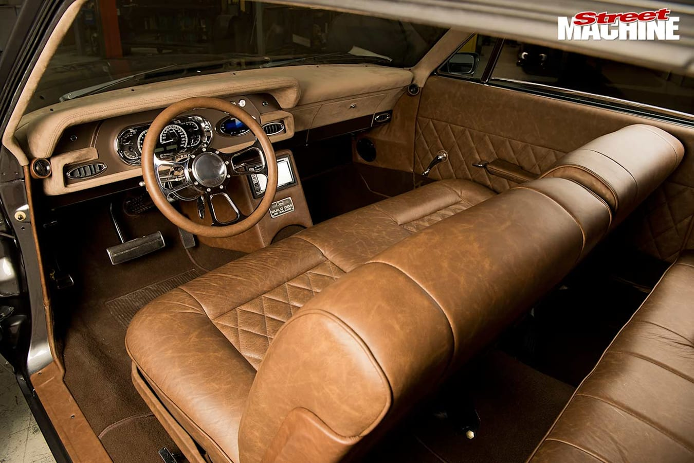 Ford Galaxie interior front